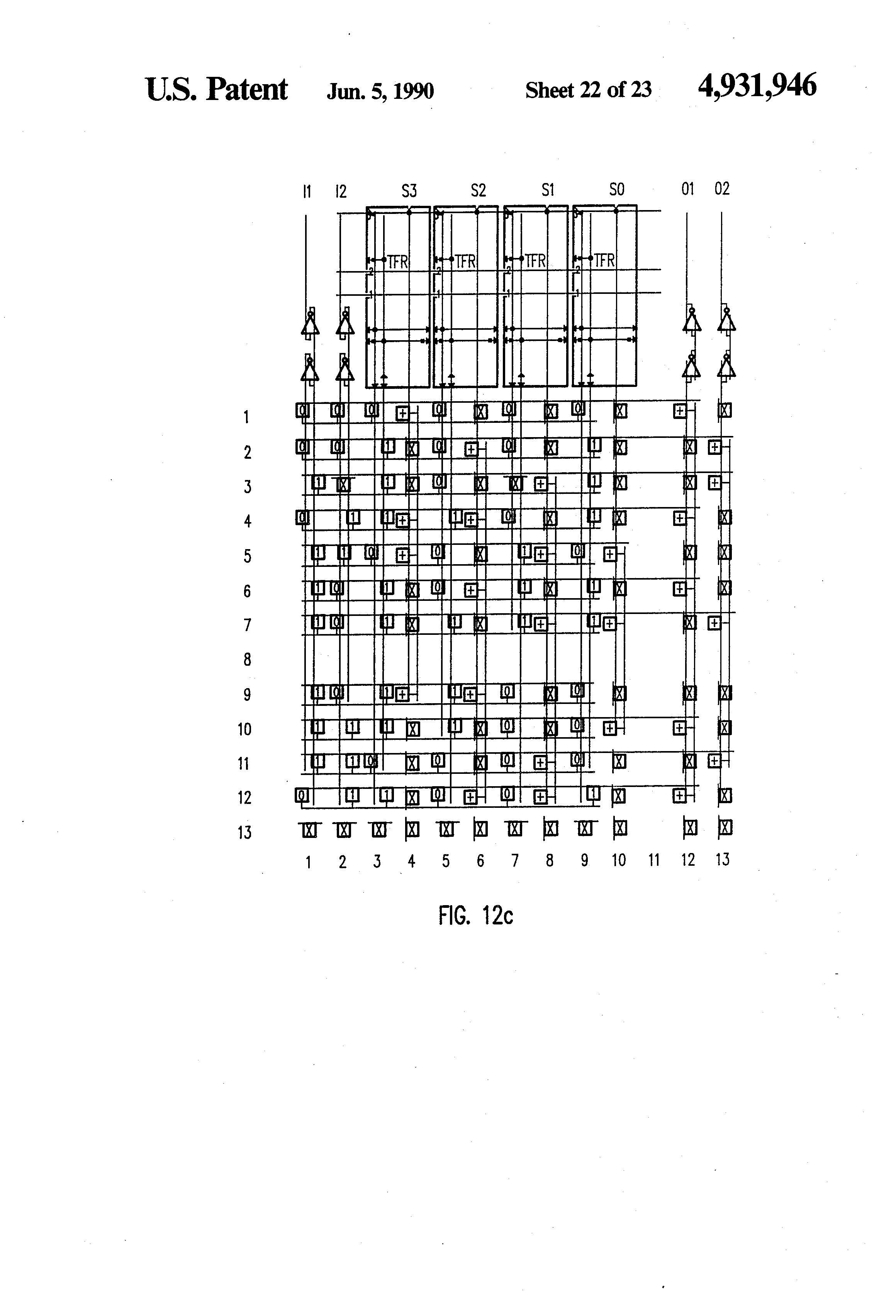 Patent US4931946 - Programmable tiles - Google Patents