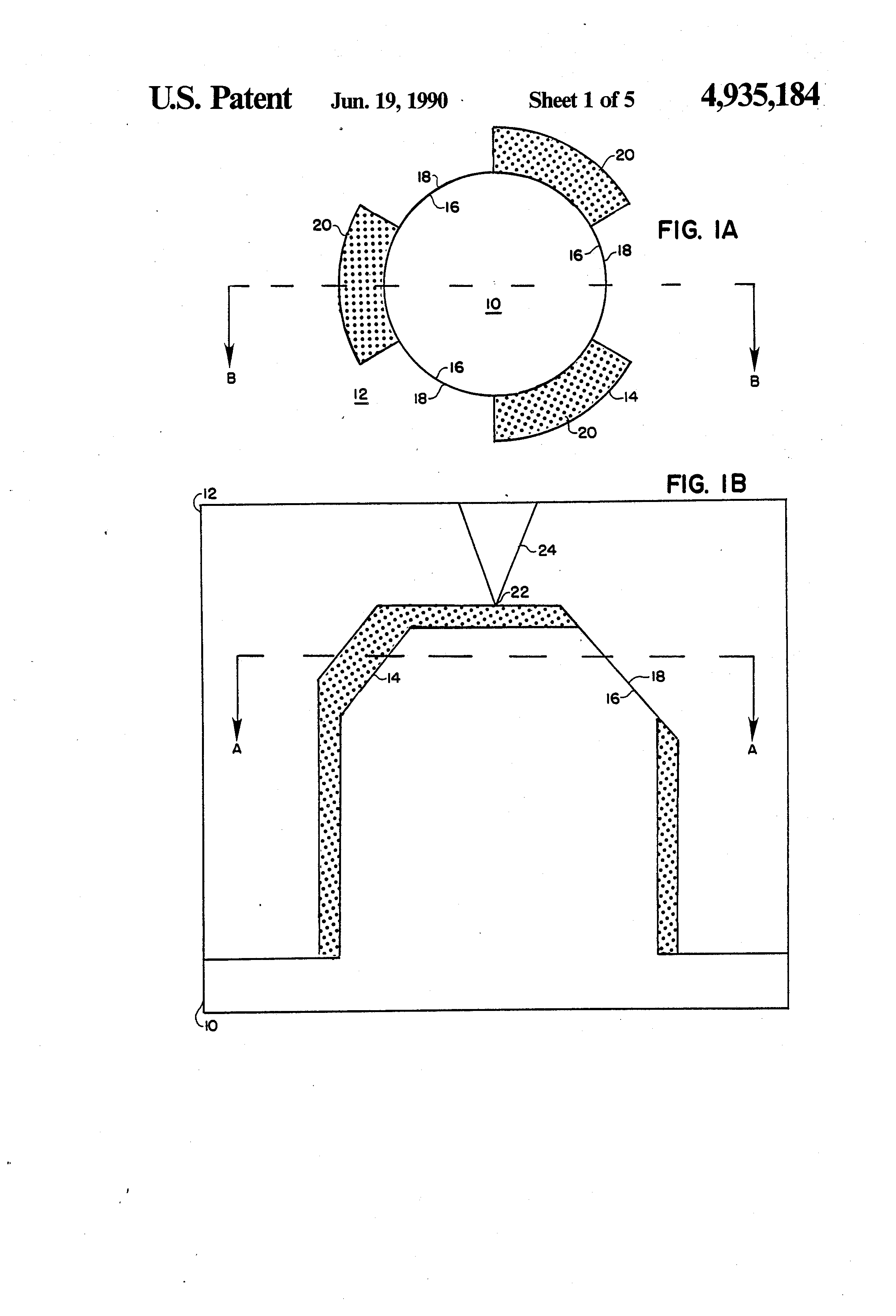 Patent US4935184 - Stabilized injection molding when using a