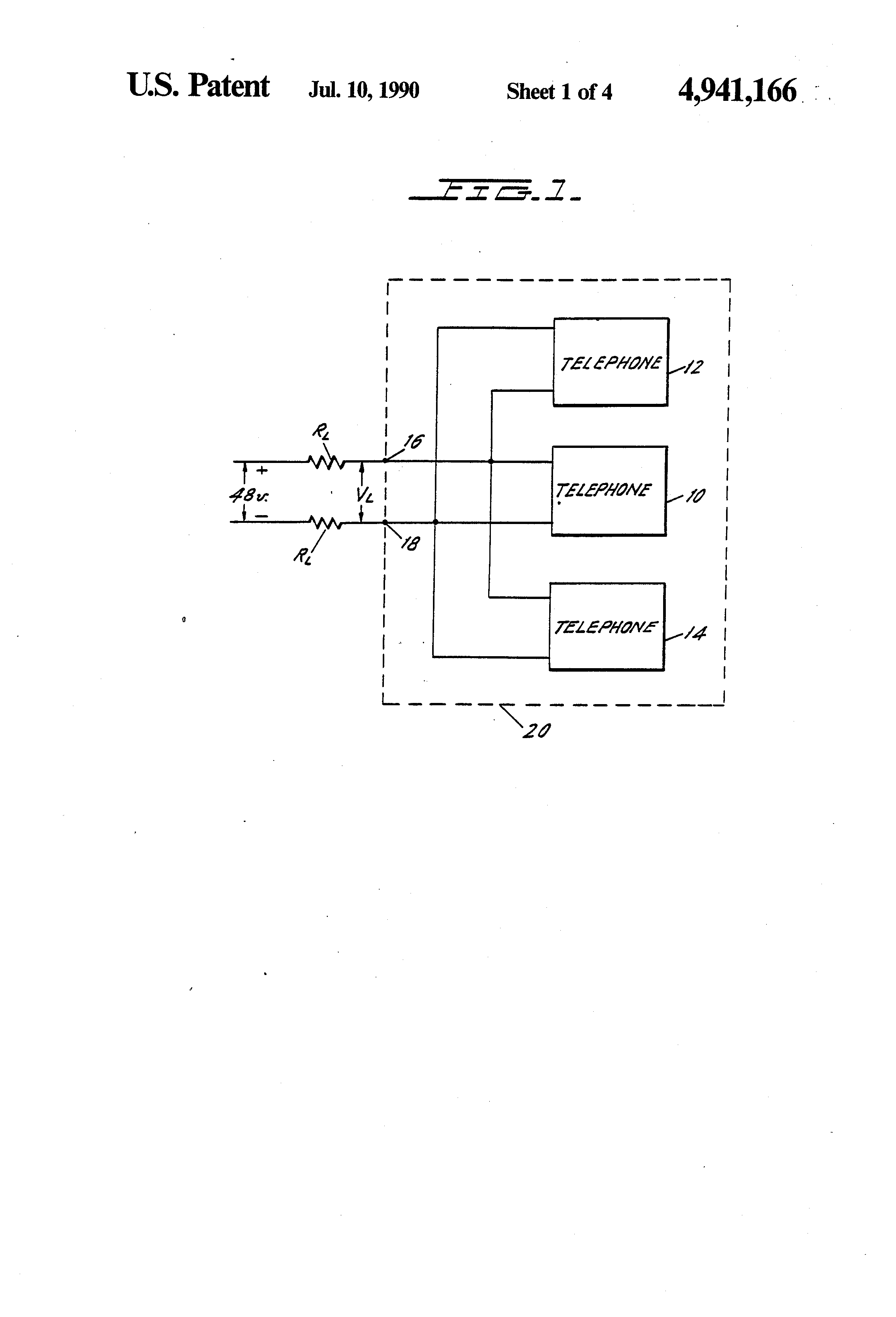 Patent Us4941166 Muting Circuit For Telephone Answering Machine