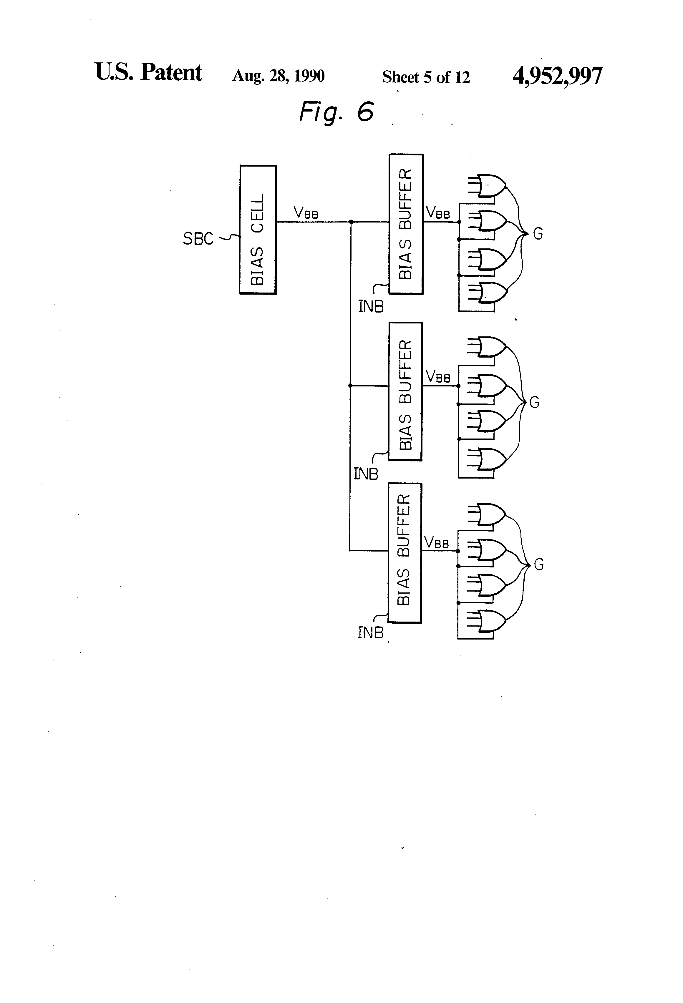 Brevet Us4952997 Semiconductor Integrated Circuit Apparatus With Dj 5a Wiring Diagram Patent Drawing