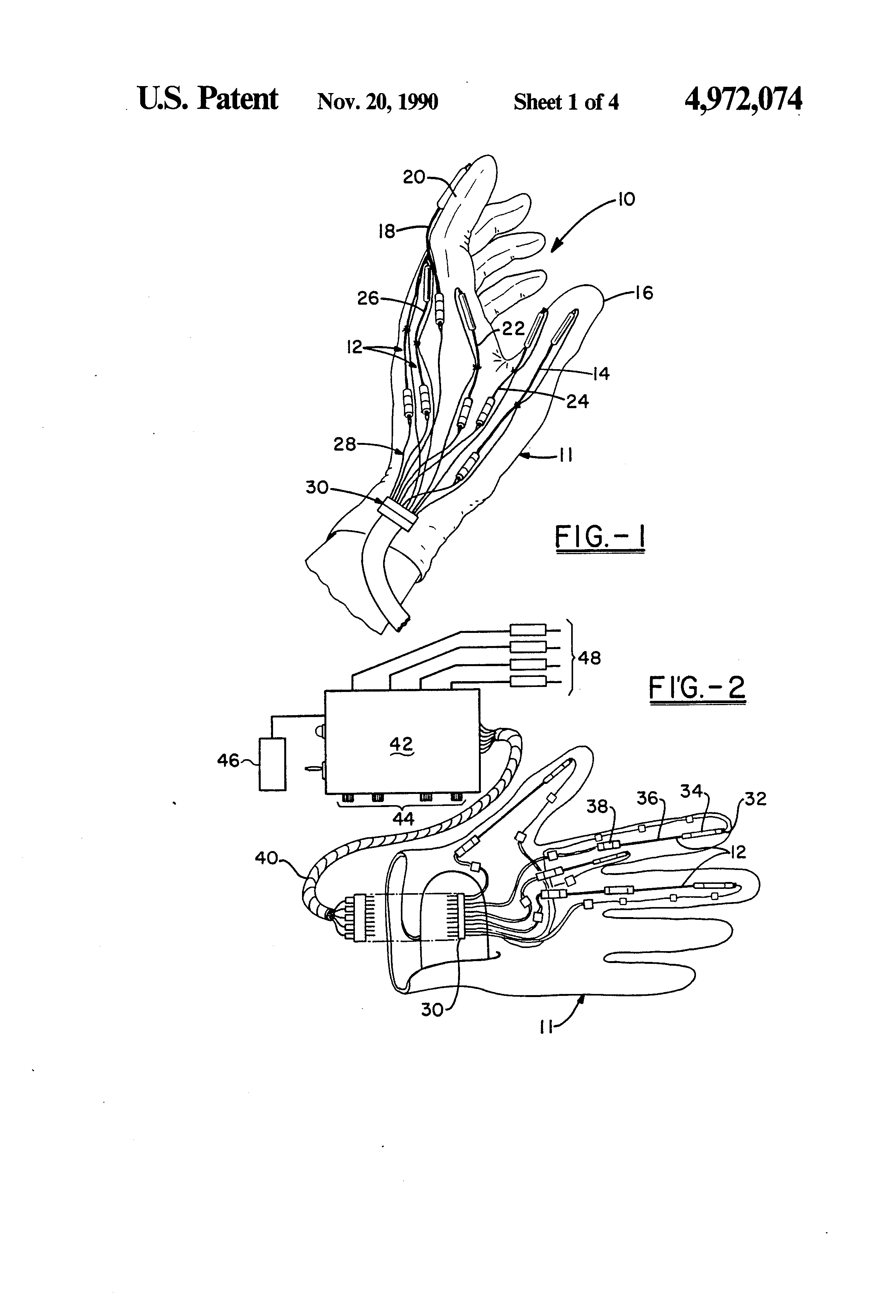 Patent Us4972074 Optical Attenuator Movement Detection System Interface Circuit And Method For Sensor Drawing