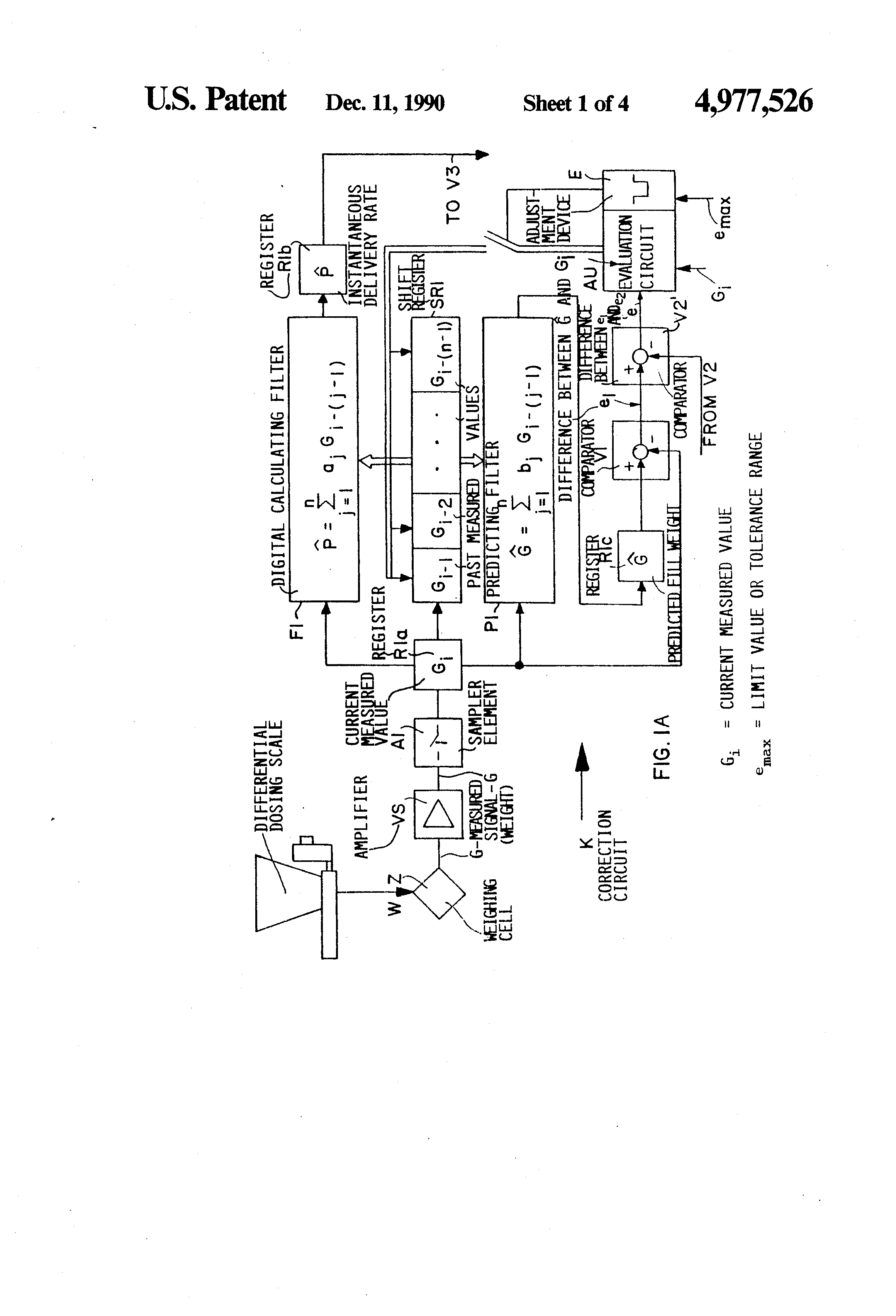 Patent US4977526 - Method and system for controlling a