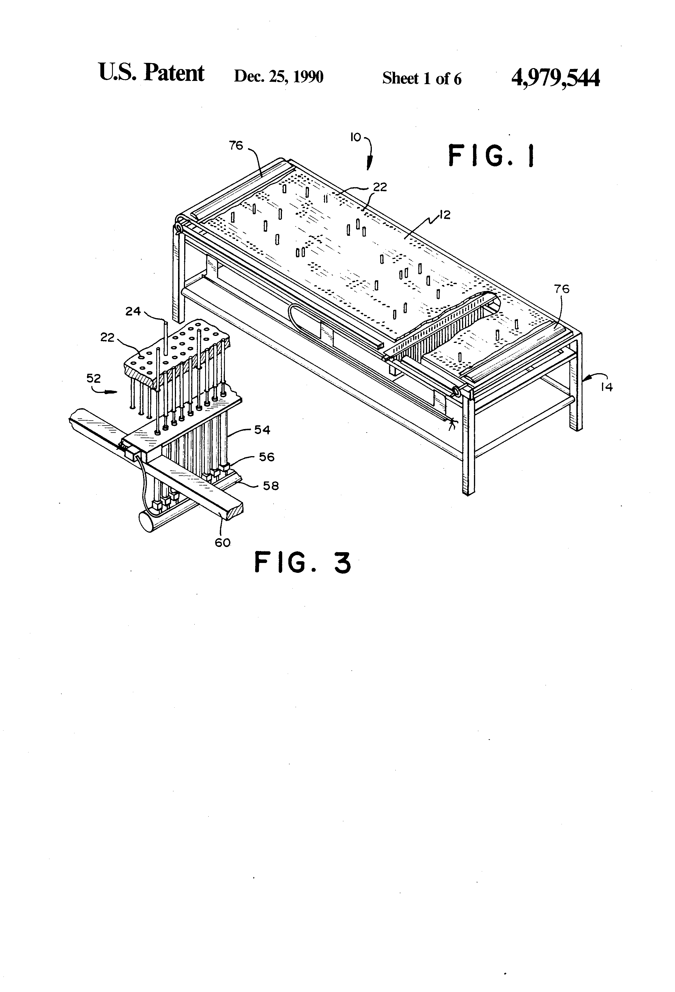 Patent Us4979544 Universal Wire Harness Form Board