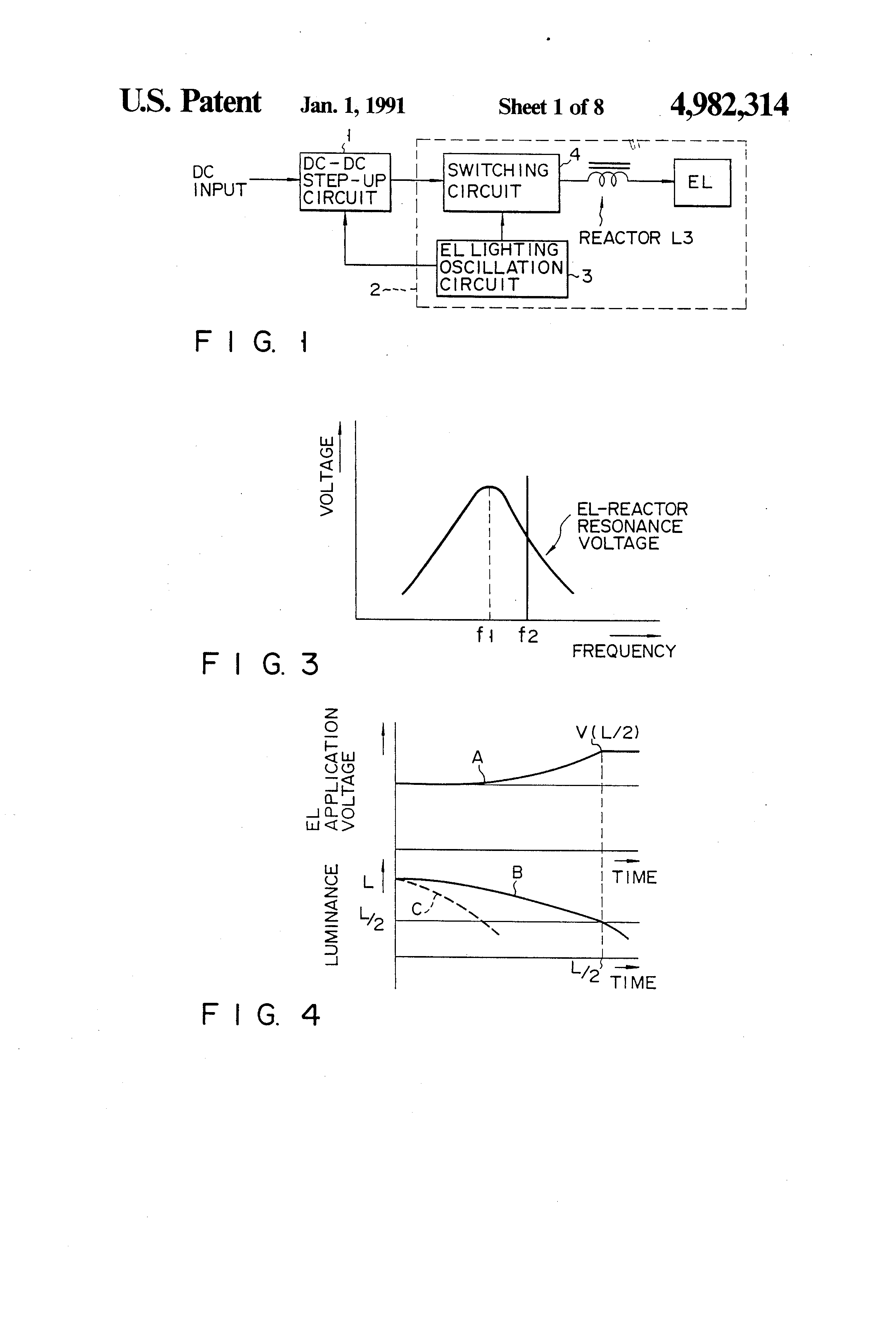 Patent Us4982314 Power Source Circuit Apparatus For Electro Multivibrator Ideals Simple Crystal Oscillator Drawing