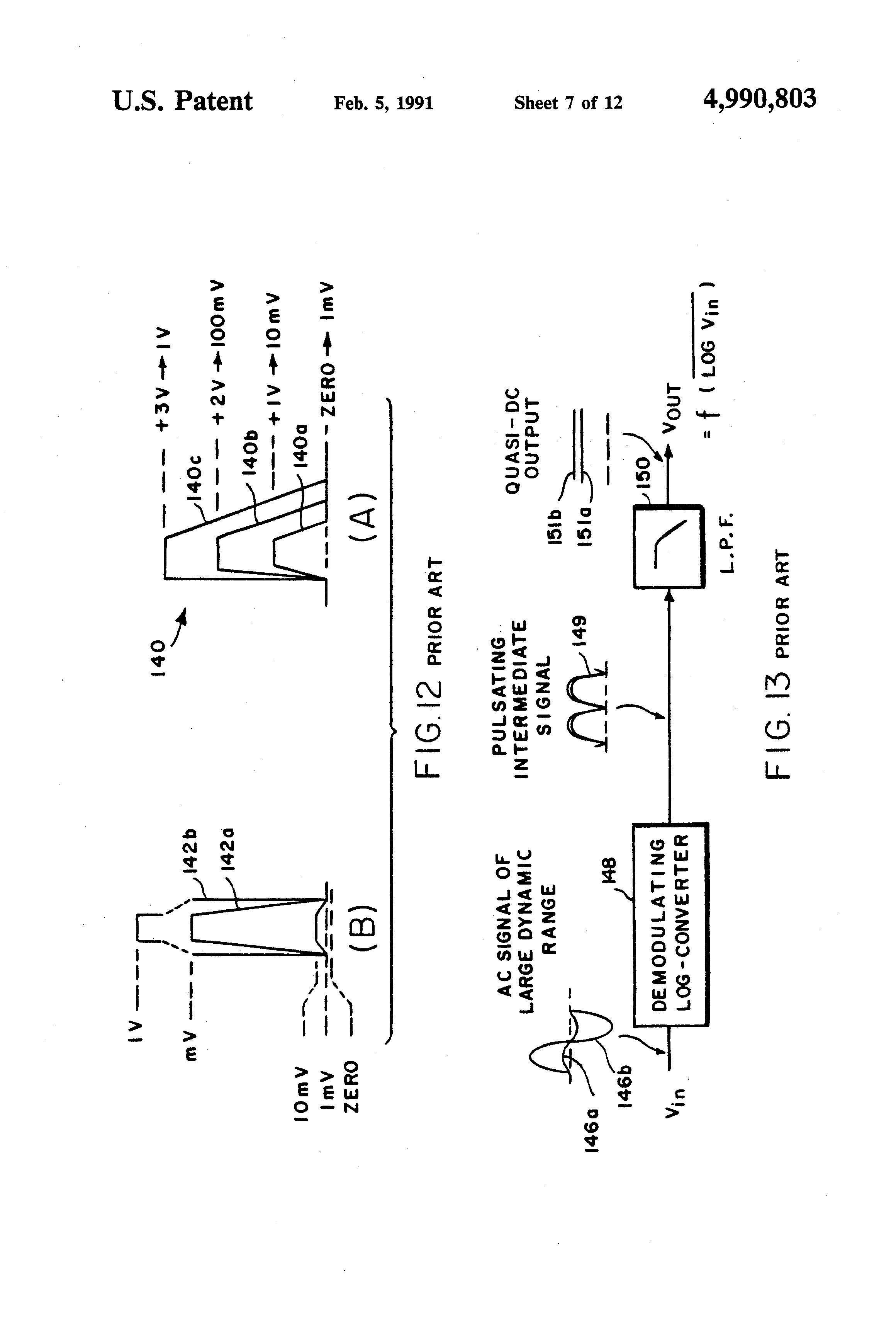 patent us4990803 - logarithmic amplifier