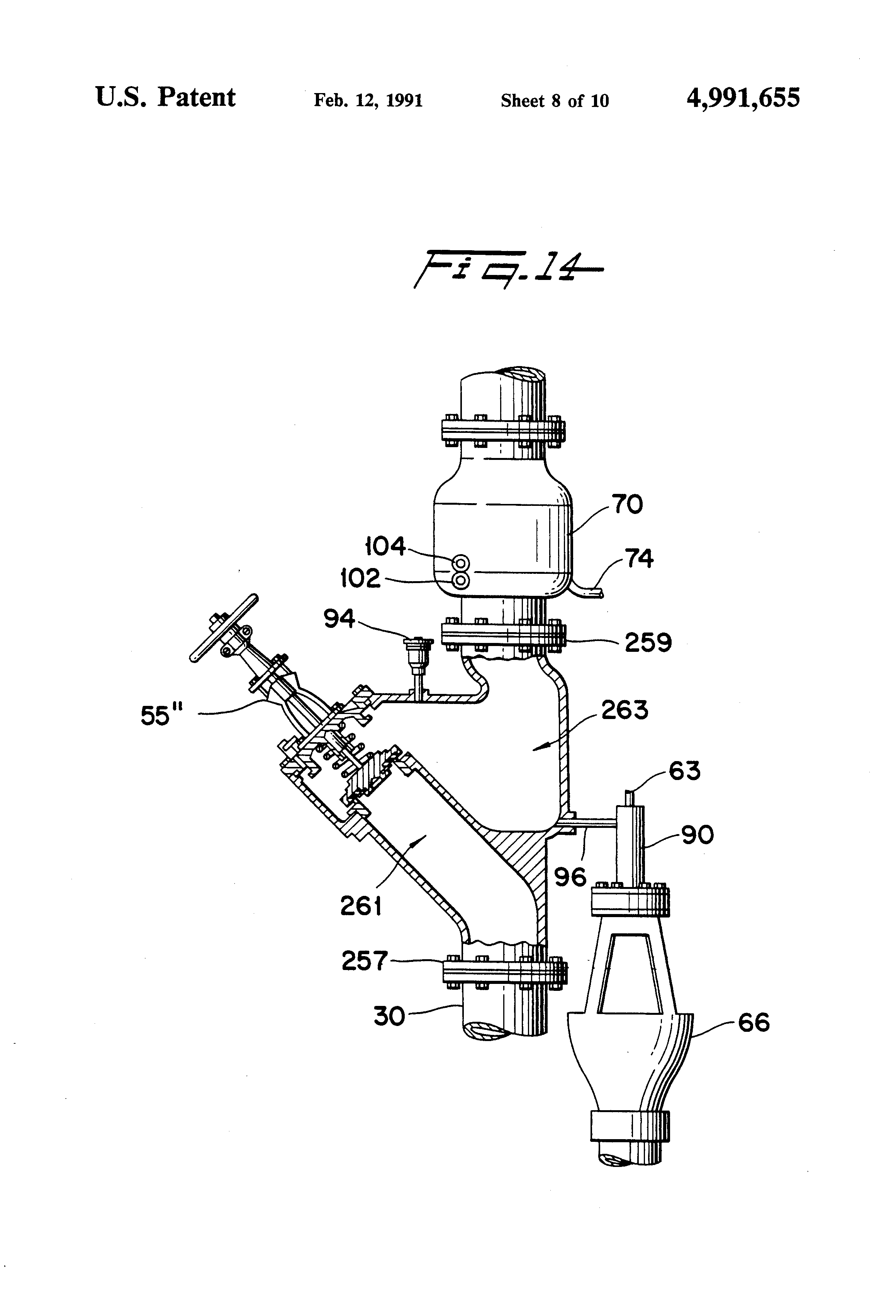 Patent Us4991655 Combined Alarm And Back Flow Prevention Buick Century Engine Diagram Drawing