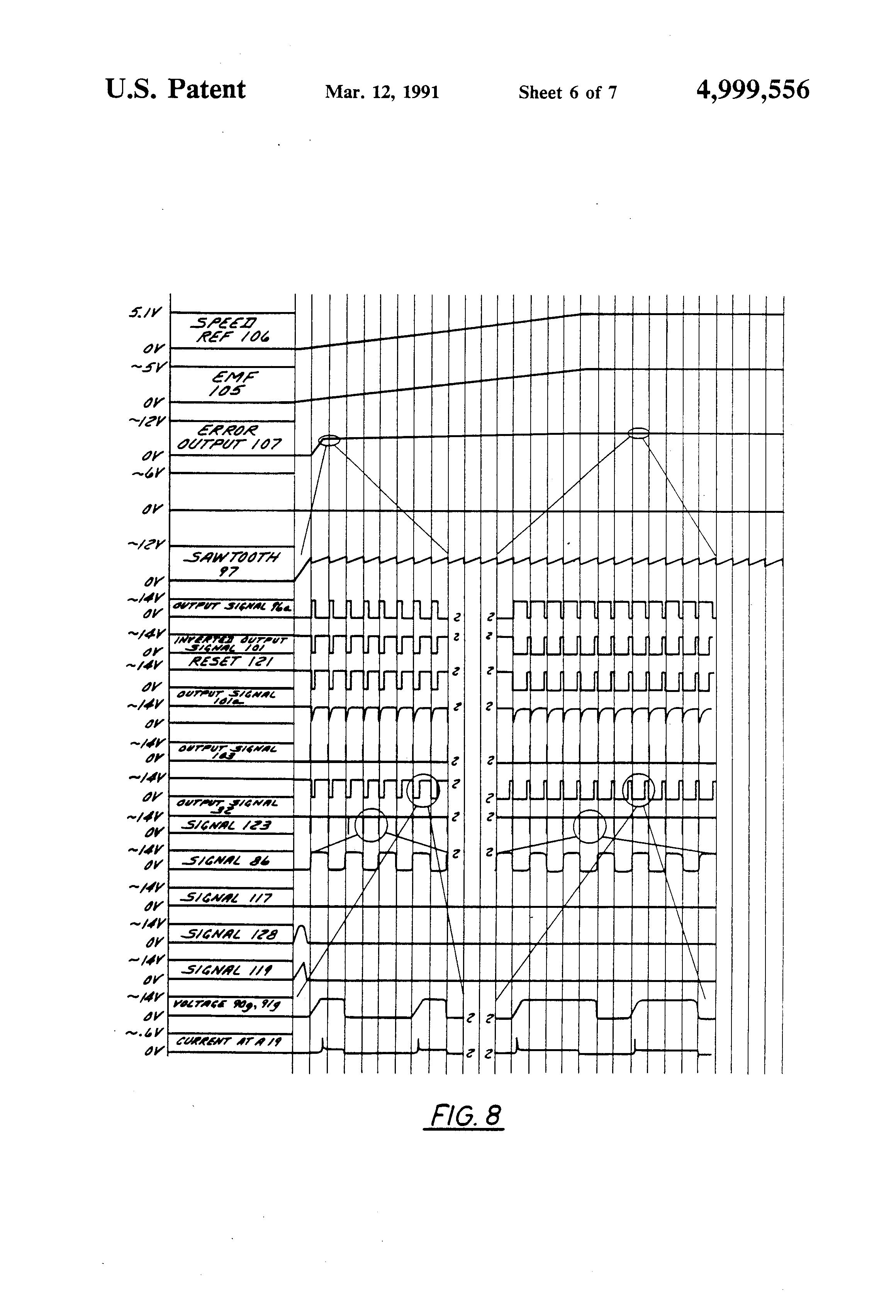 patent us4999556 - pulse width modulator motor control