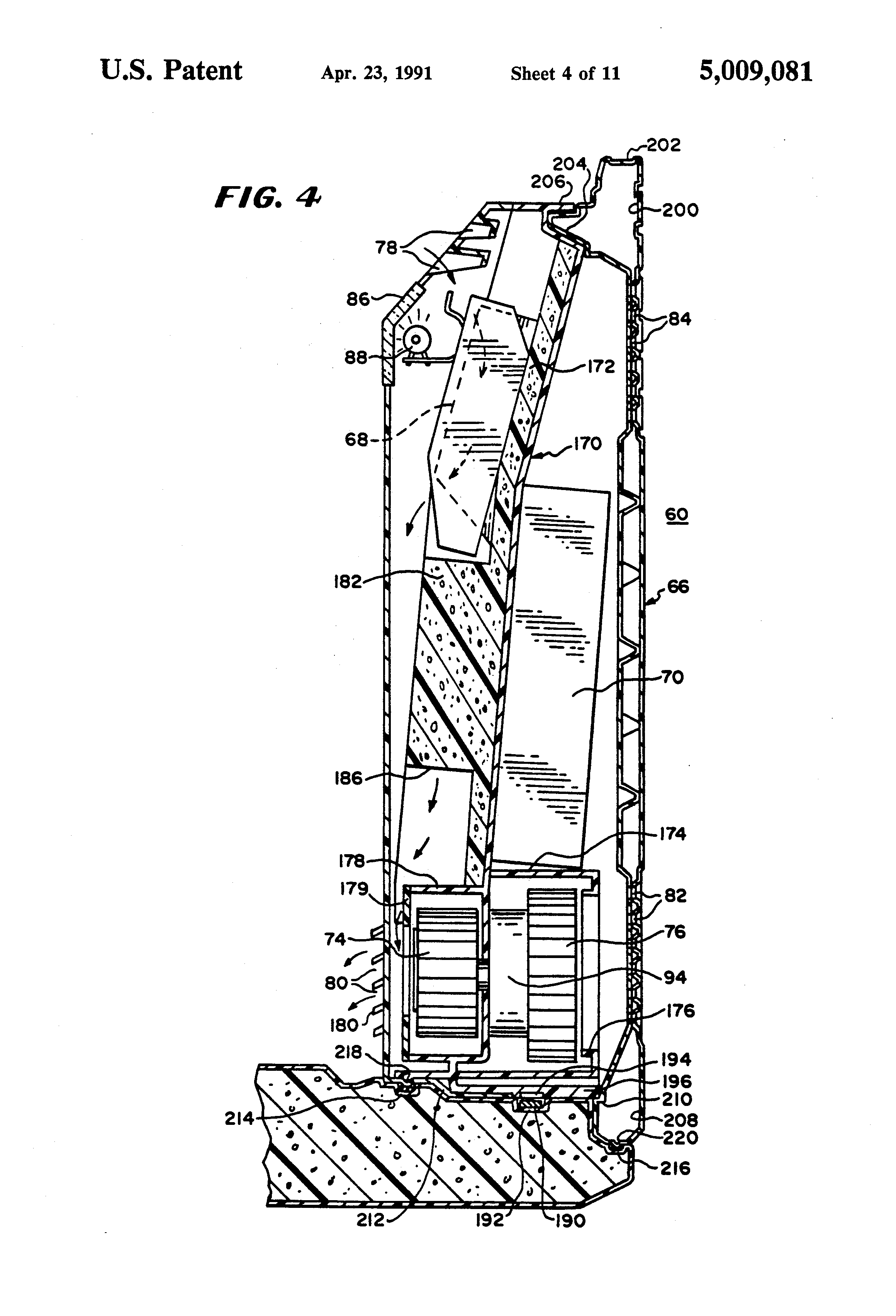 patent us5009081