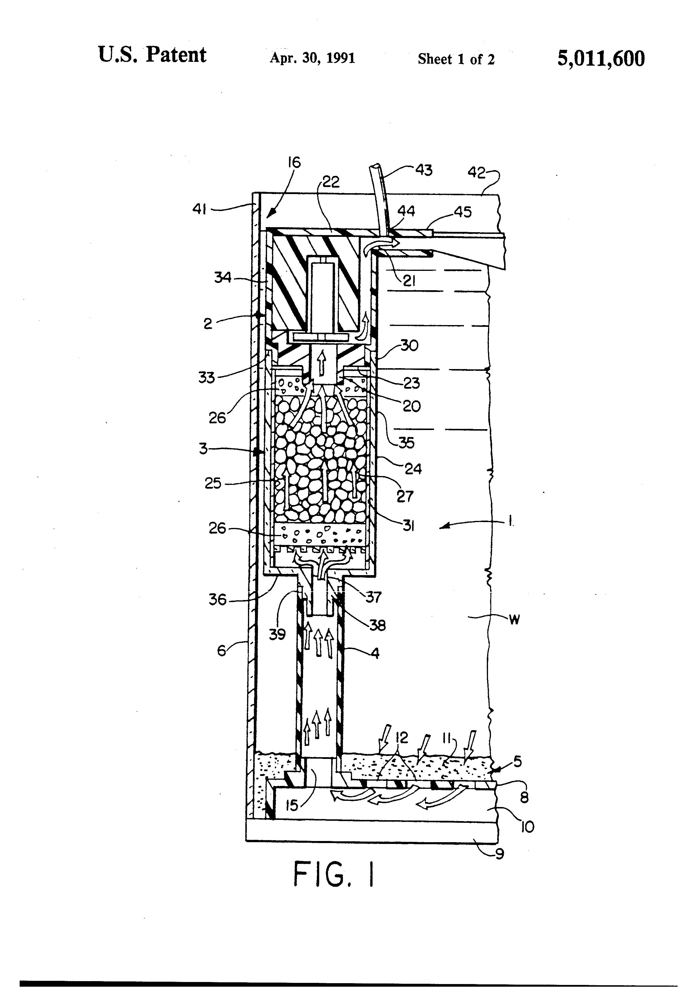 Patent Us5011600 Water Filtration System For Aquariums Google Diagram Patentsuche