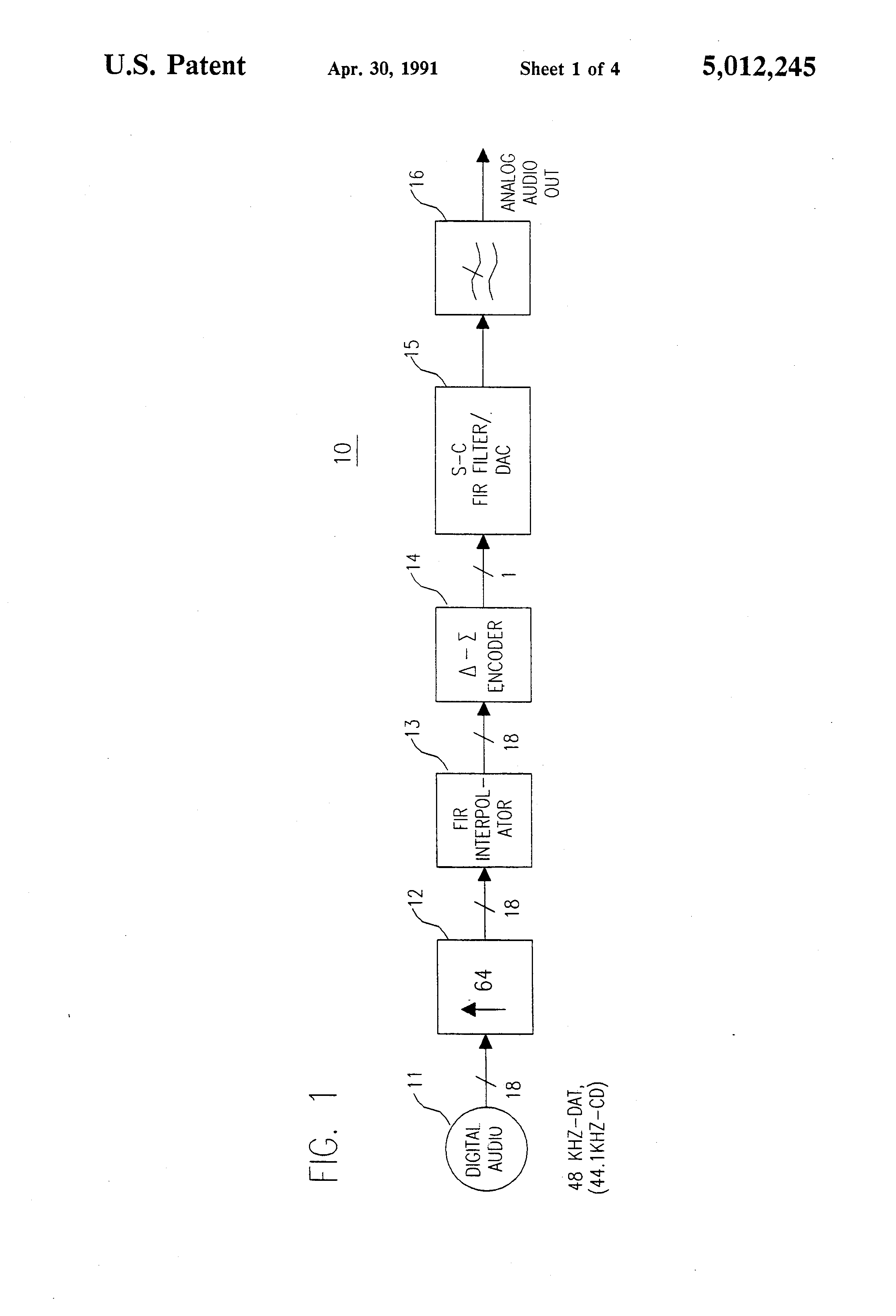 patent us5012245