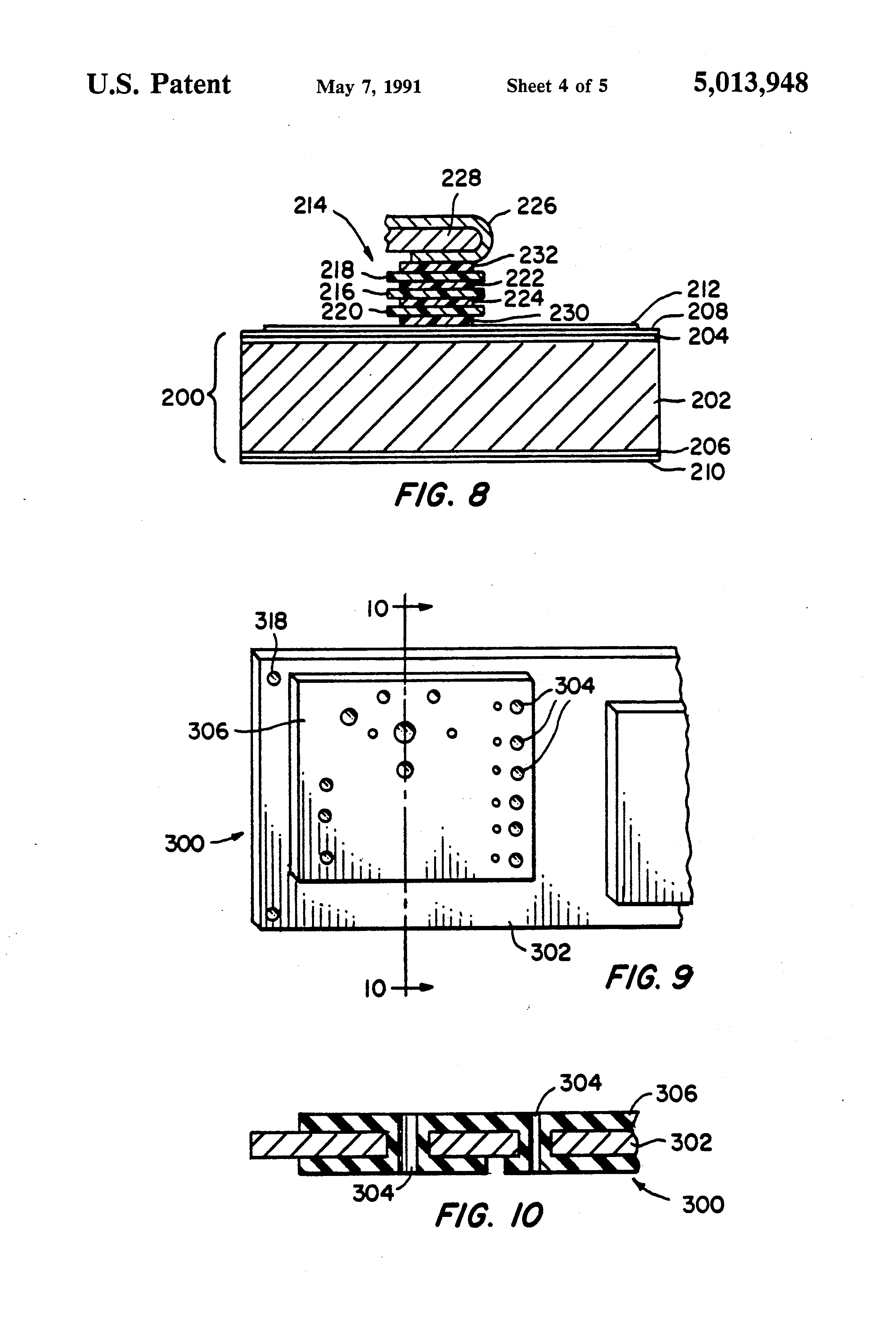 patent us5013948 - high power rotating rectifier assembly