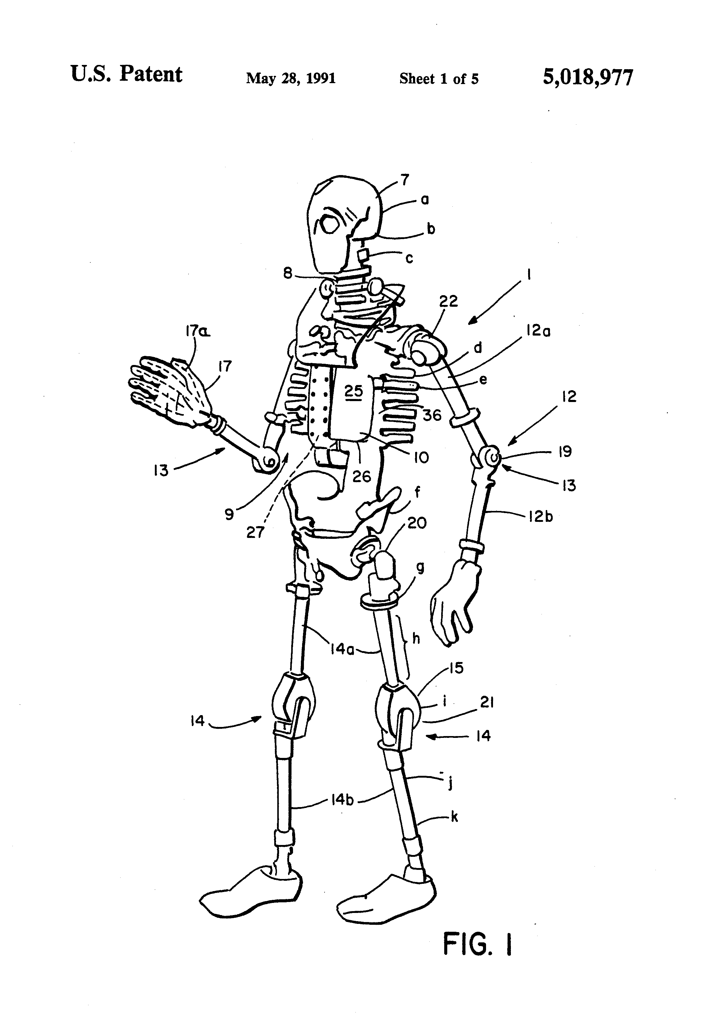 Patent Us5018977 Motorcycle Accident Simulating Test