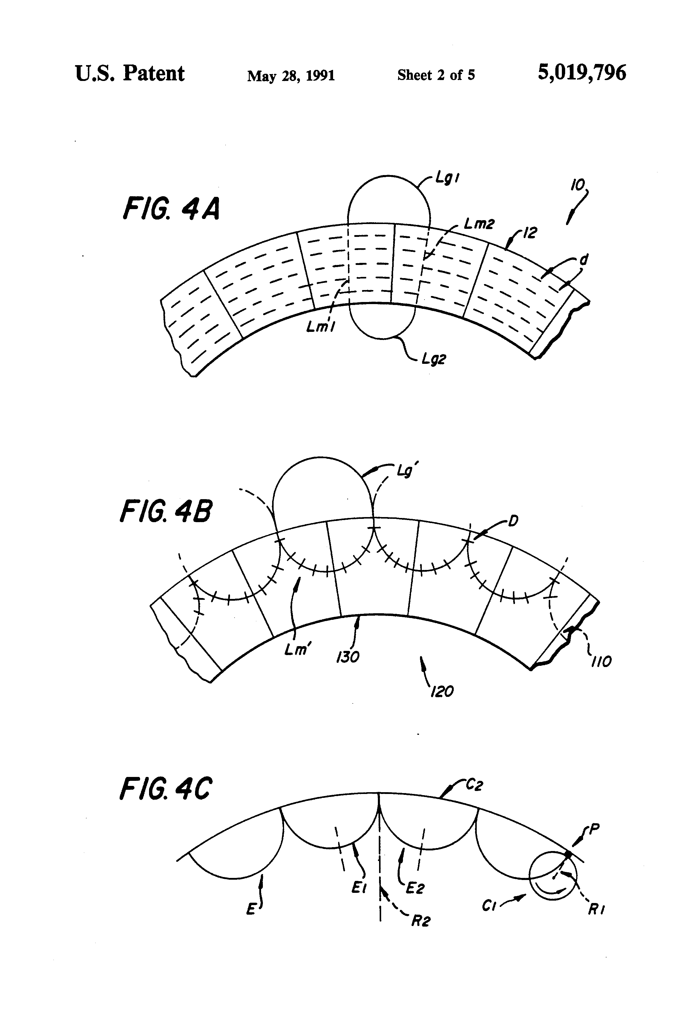patent us5019796 bar magnet for construction of a magnetic roller Magnetic Motor patent drawing