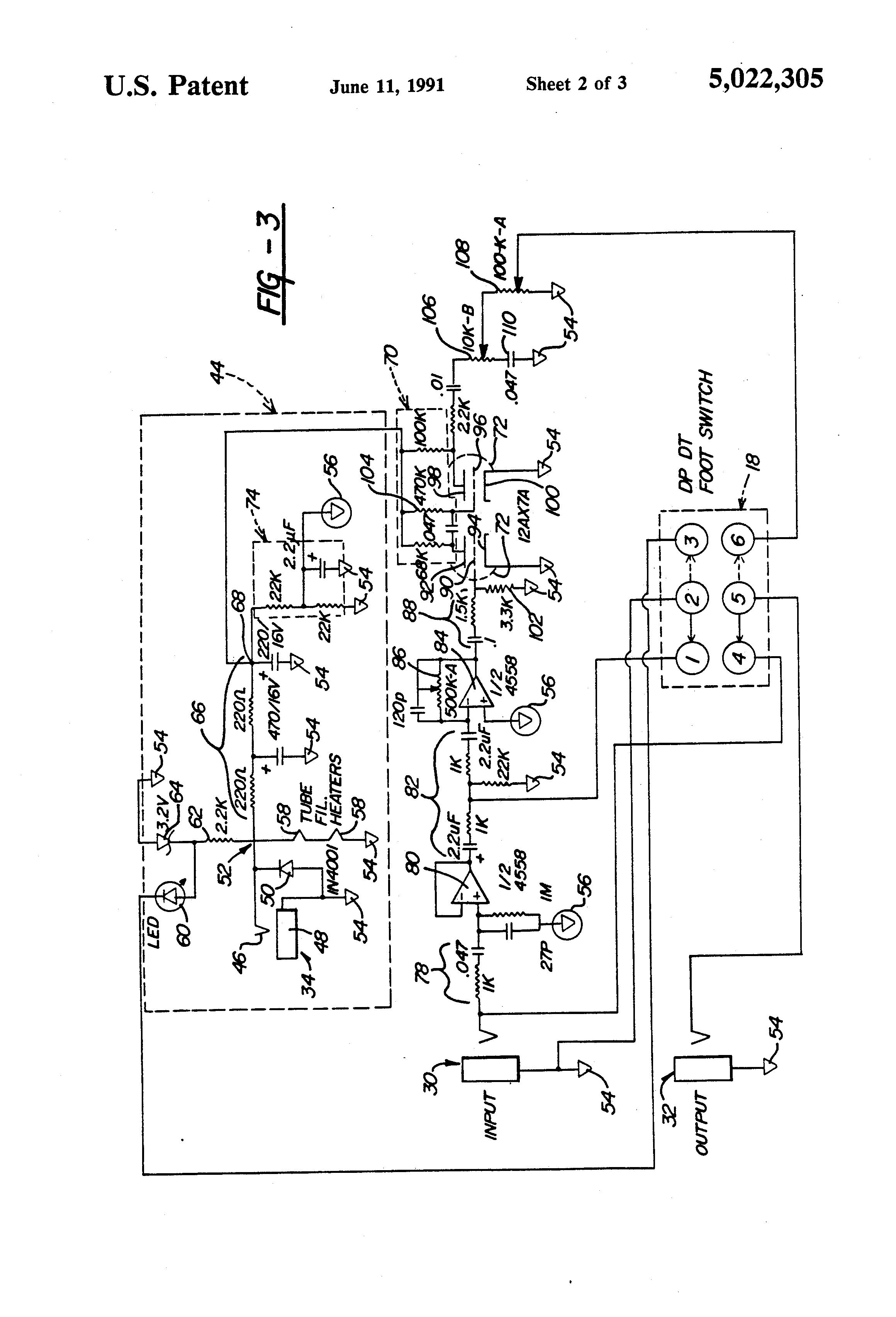 patent us5022305