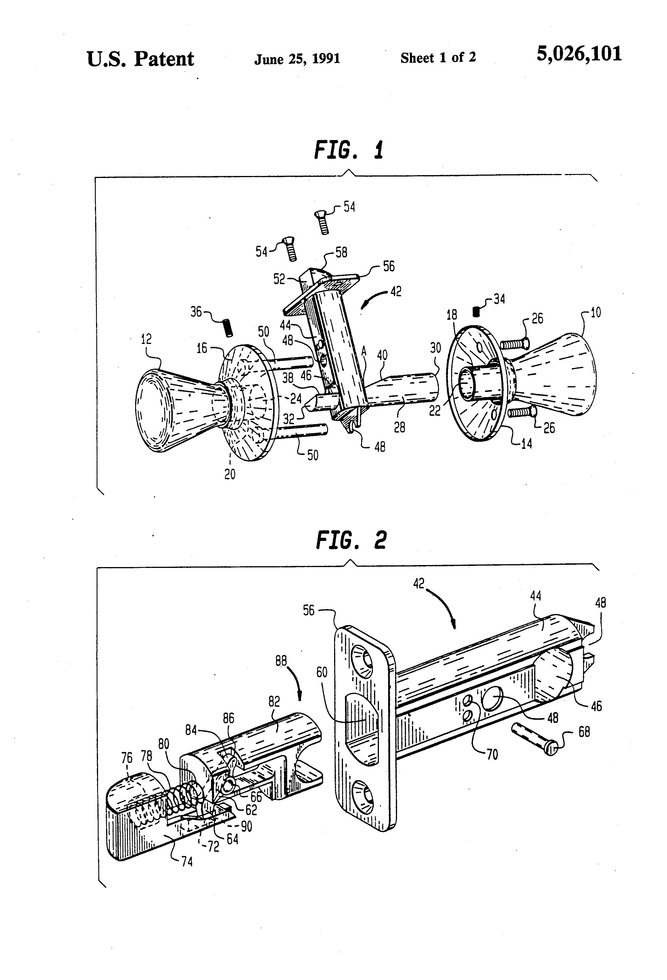 Door Handle Parts Diagram Com