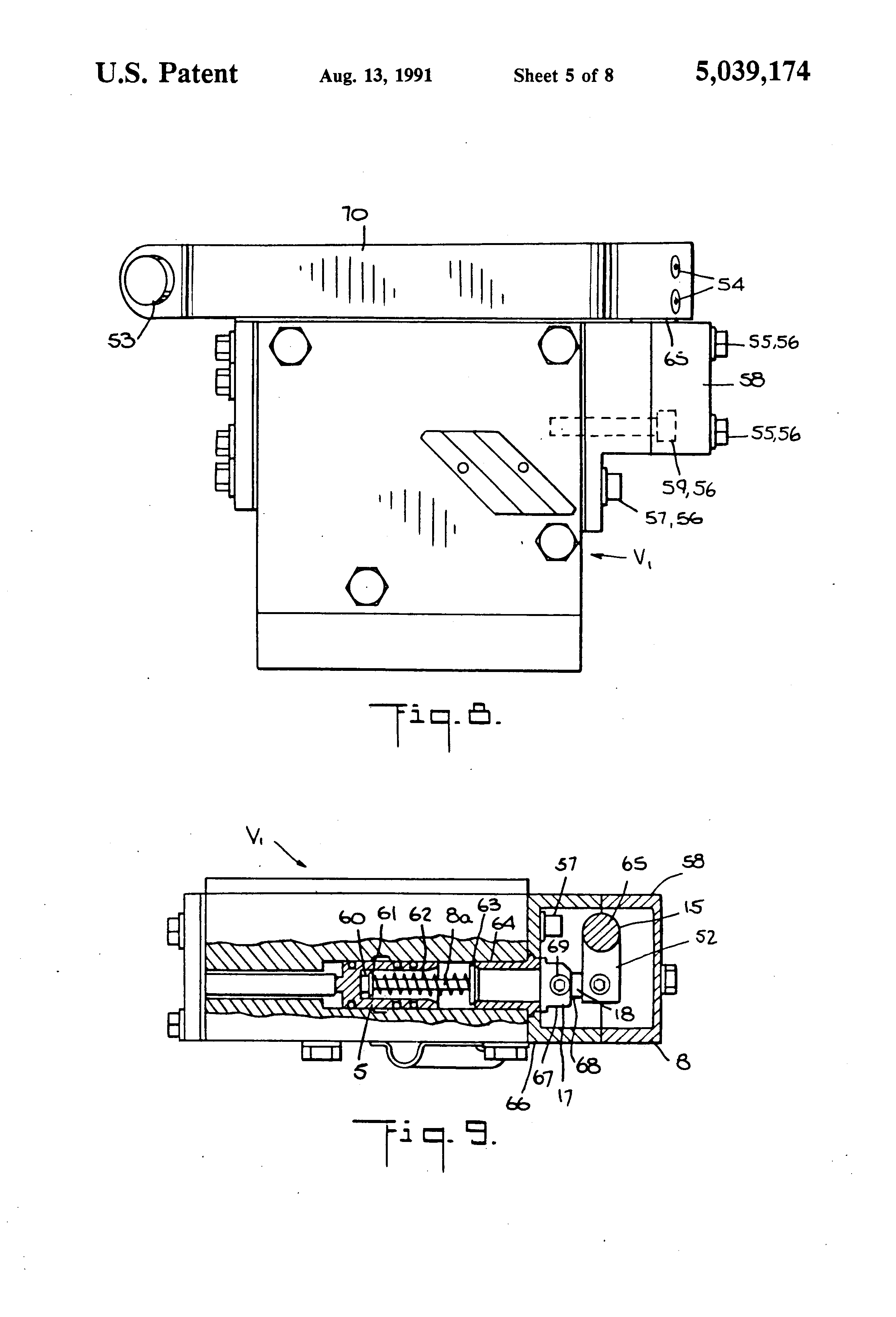 This Application Diagram Indicates How Loadsensing Valves Control Patent Us5039174 Empty Load Braking System For Railroad Cars And Drawing