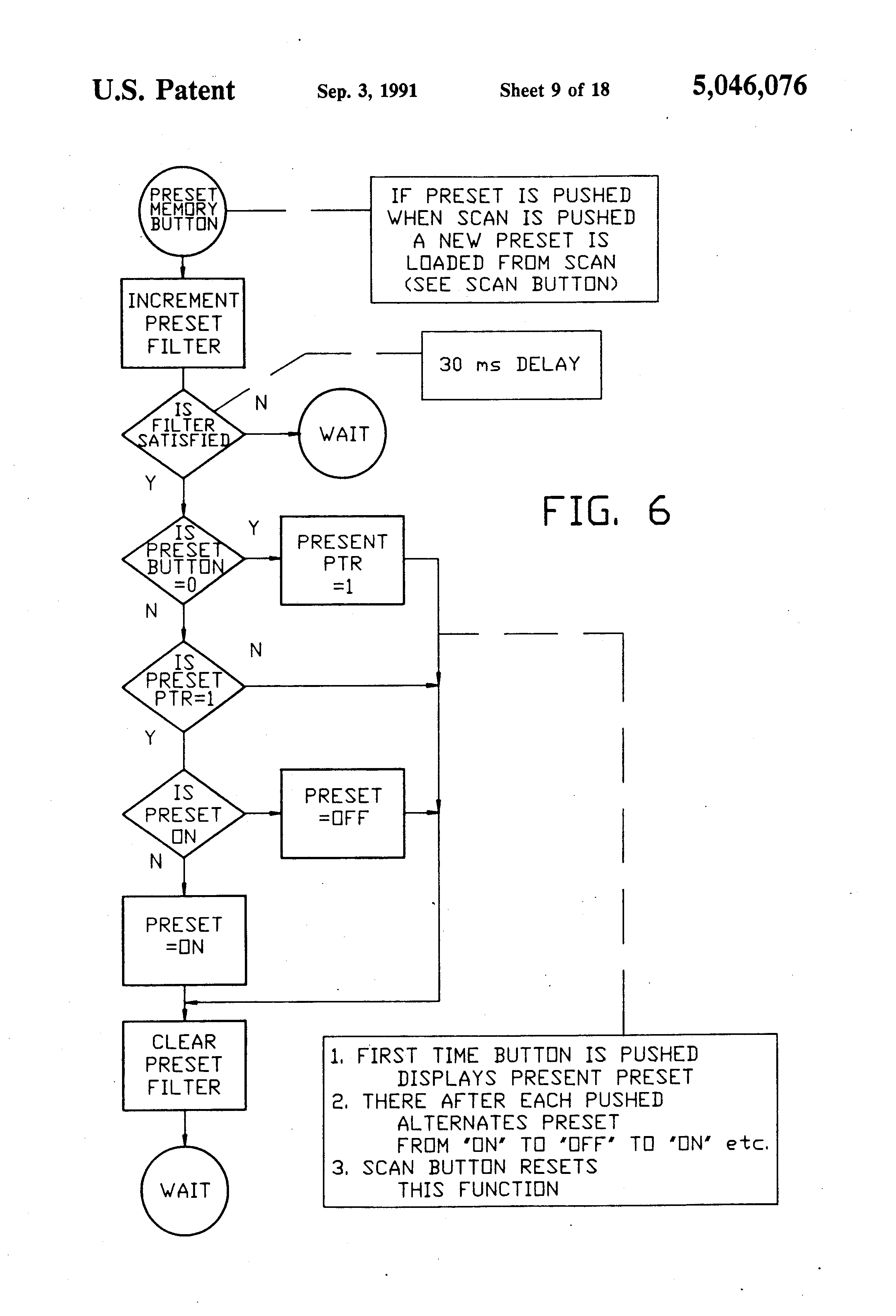 patent us5046076 credit card counter with phase error detecting Career Objective for Resume patent drawing