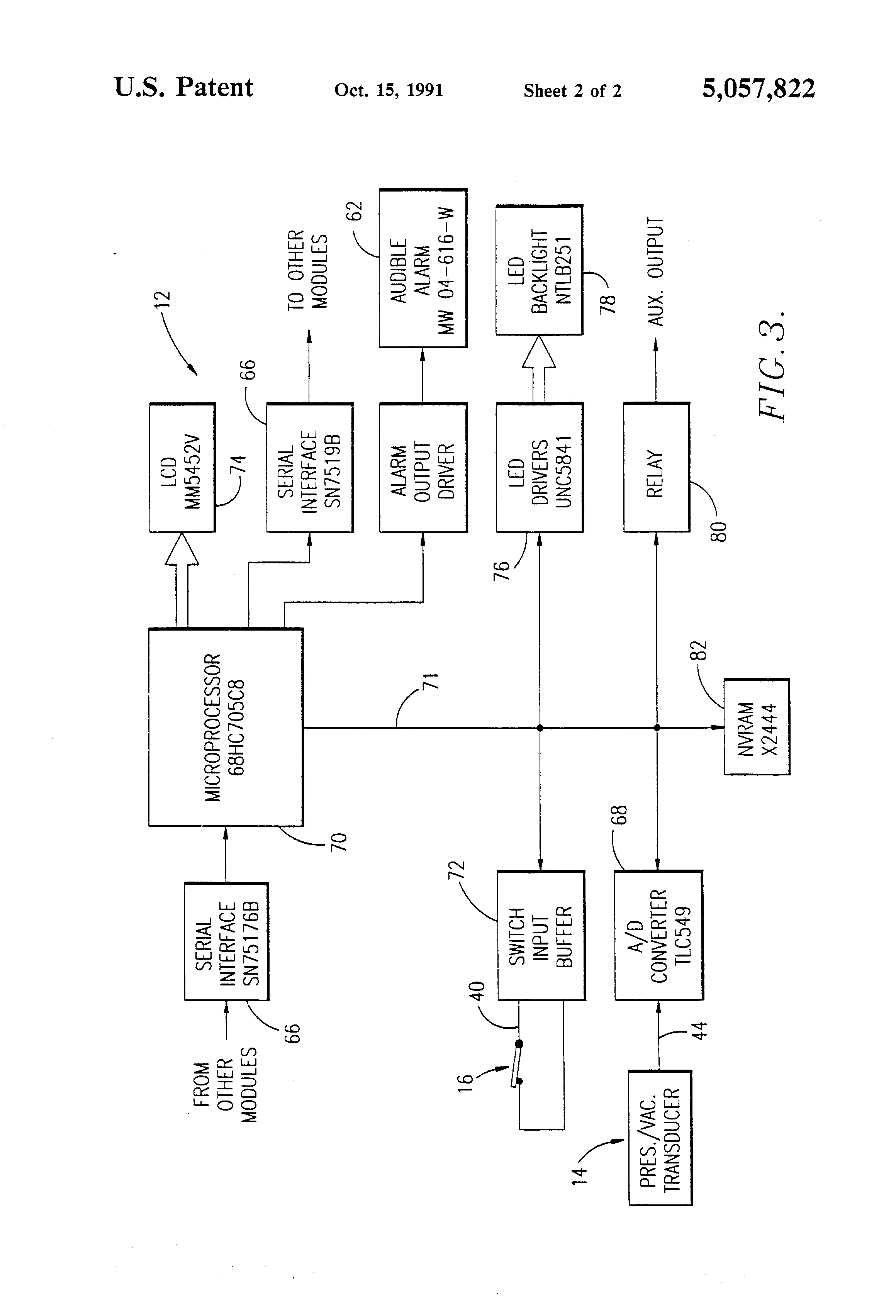 3 phase motor wiring diagrams 120 control diagrams patent us5057822 - medical gas alarm system - google patents chemetron wiring diagrams #1
