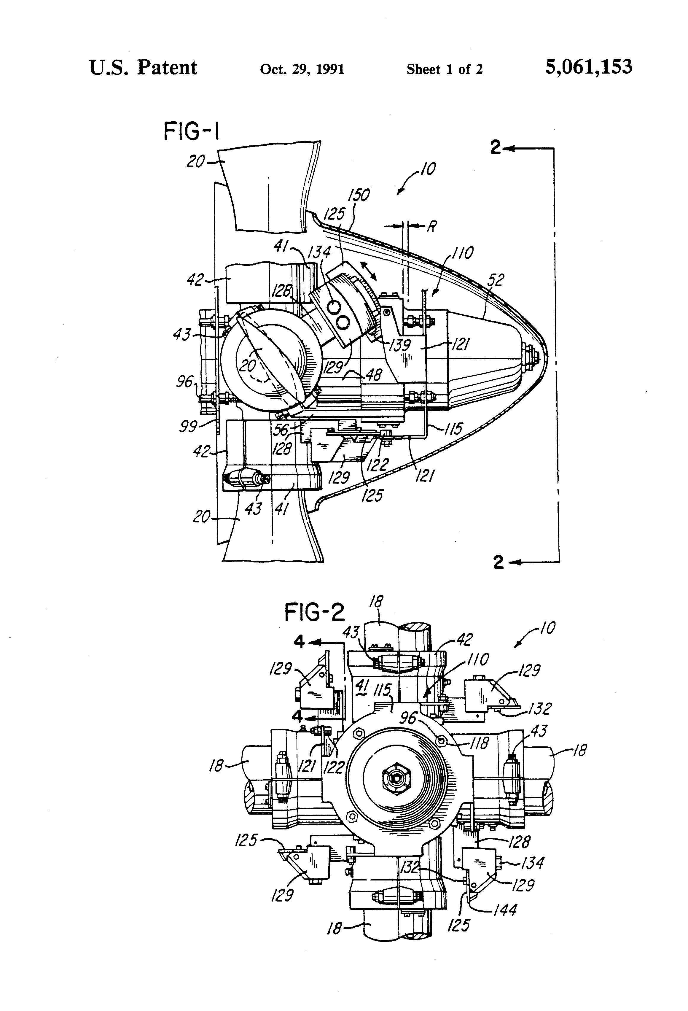Patent Us5061153 Aircraft Propeller Assembly With Blade