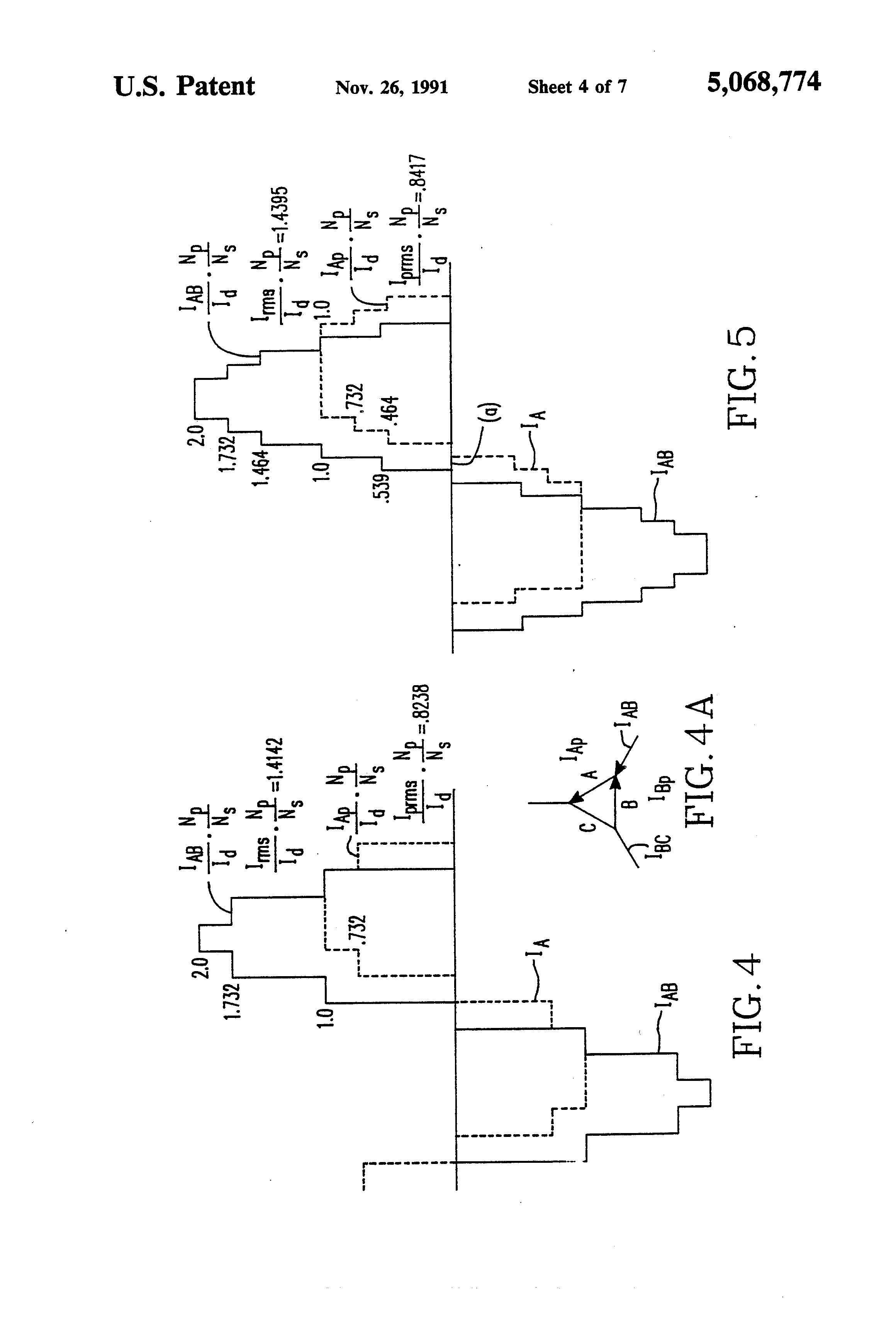 patent us5068774 - 24-pulse hexagon-type ac  dc static converter