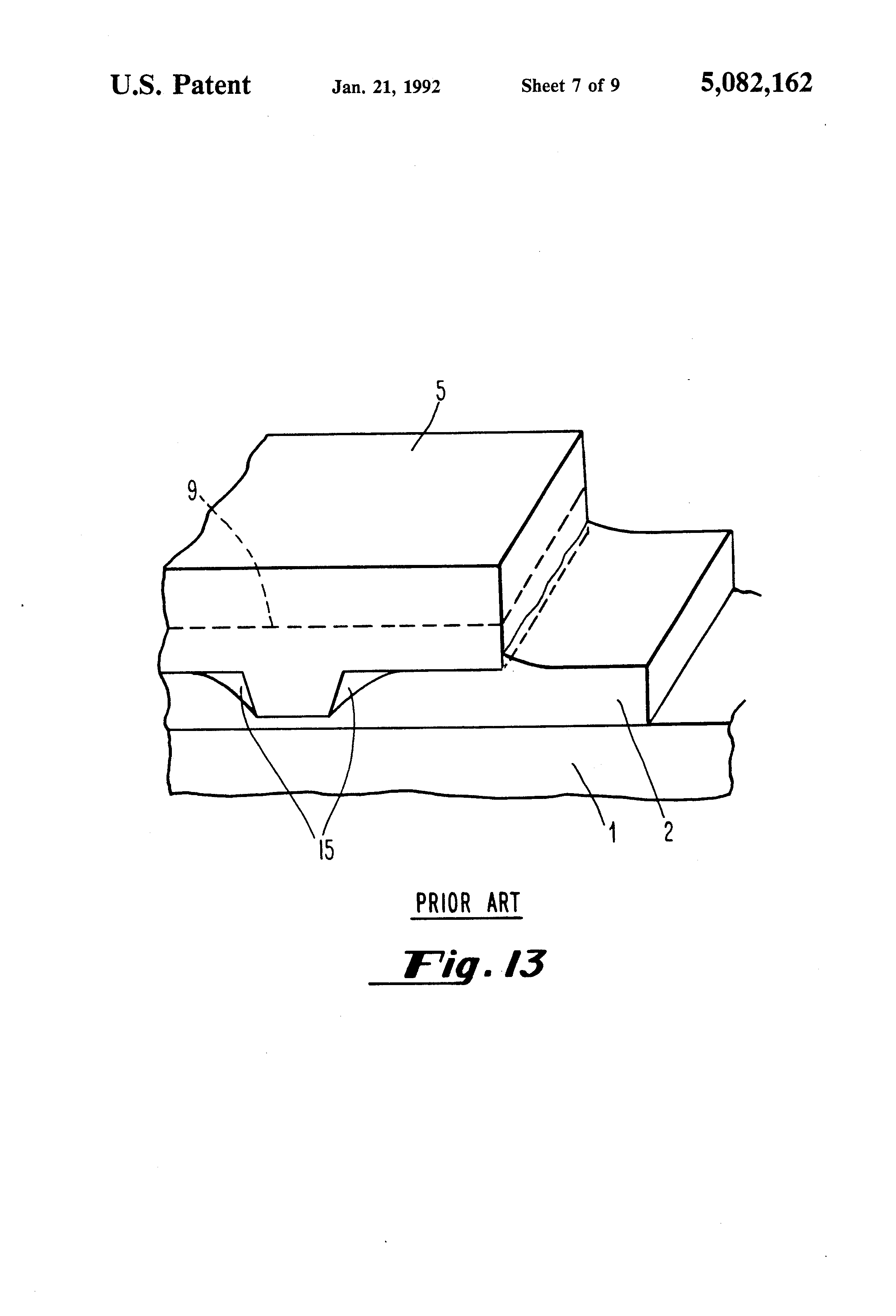 Patent Us5082162 Methods For Soldering Semiconductor
