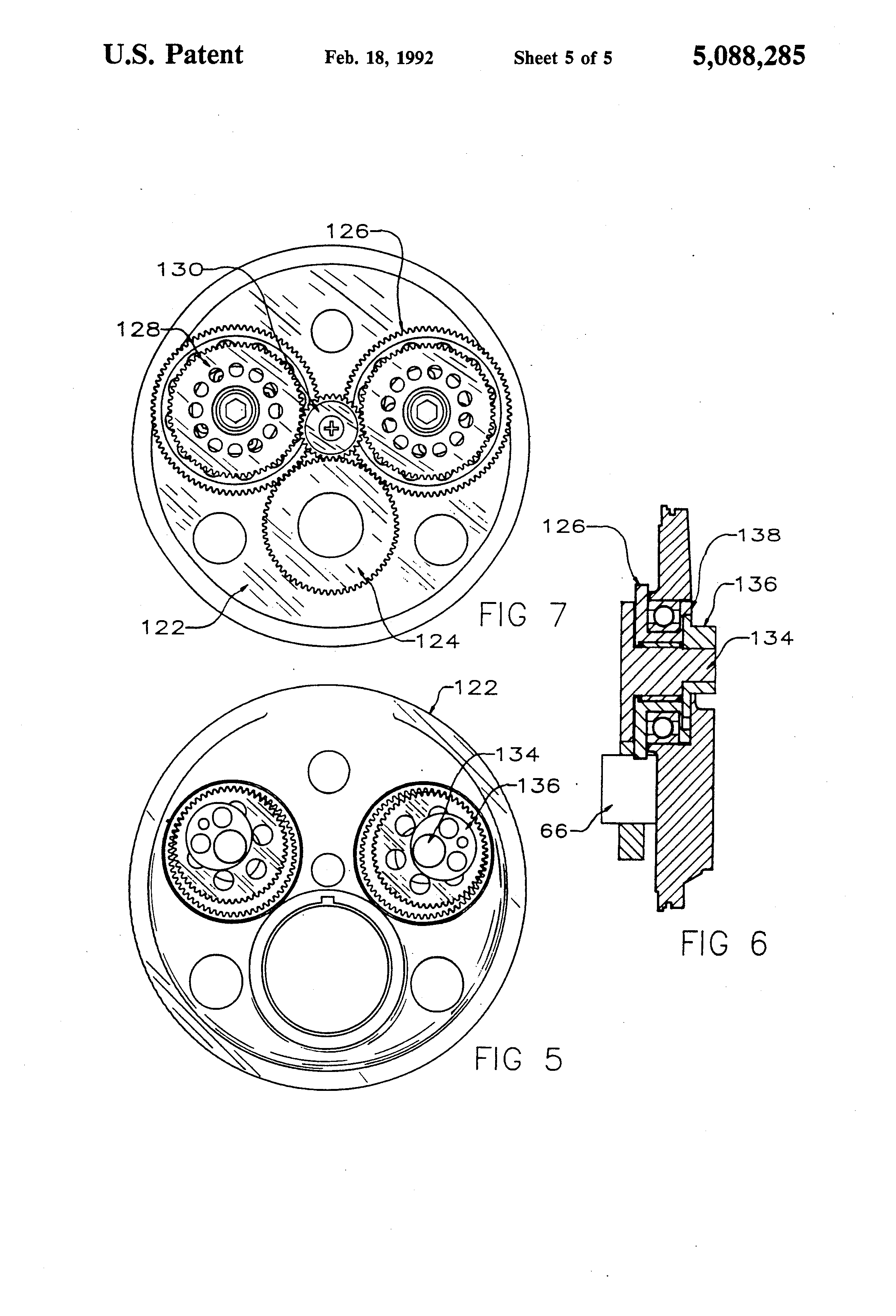 patent us5088285 internal bustion engine patentsuche 36 Inch Tires patent drawing