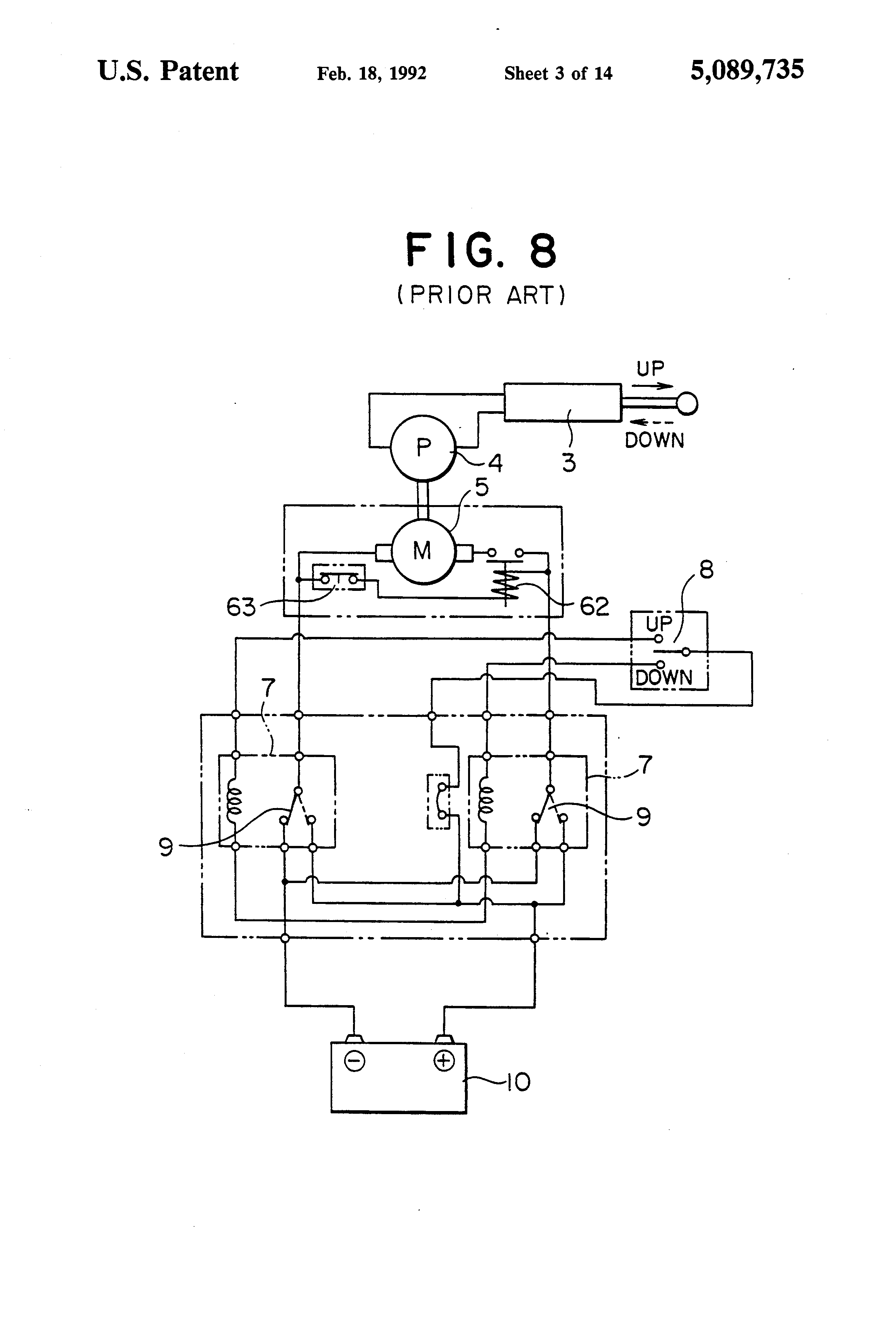 patent us5089735 - direct-current motor