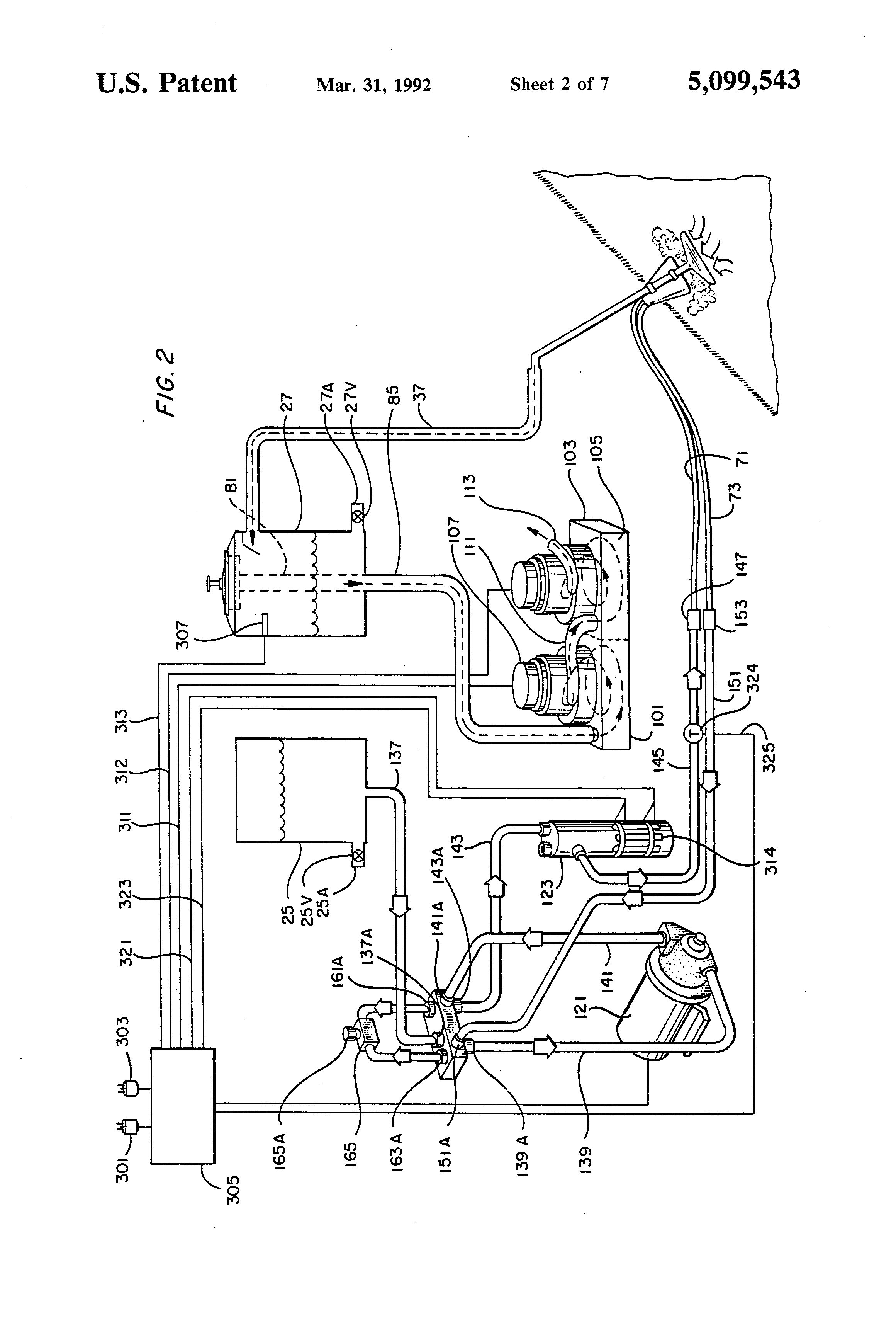 Patent Us5099543 Pump System For Cleaning Apparatus Google Patents Water Storage Tanks Along With Float Latching Relay Circuit Drawing