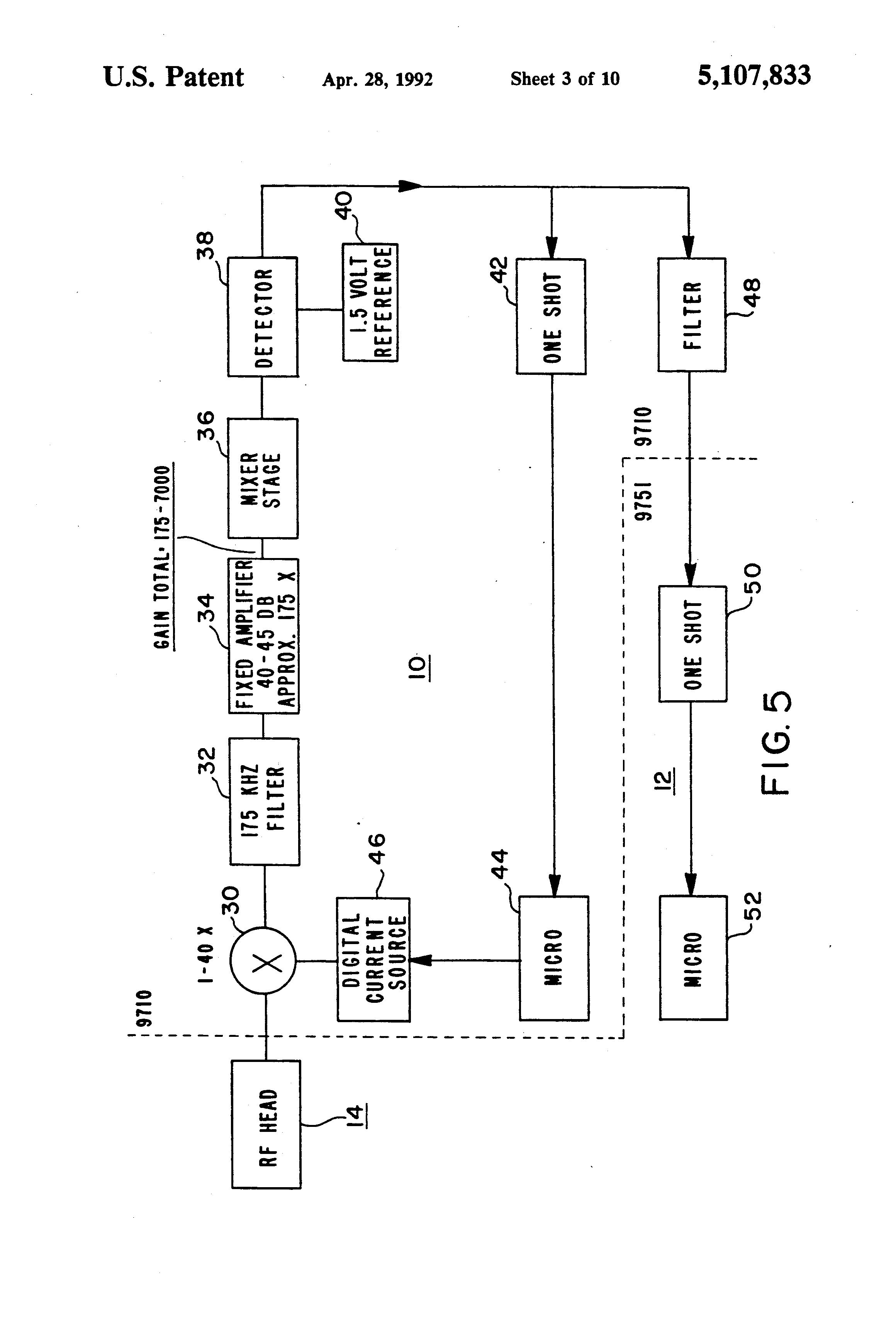 patent us5107833