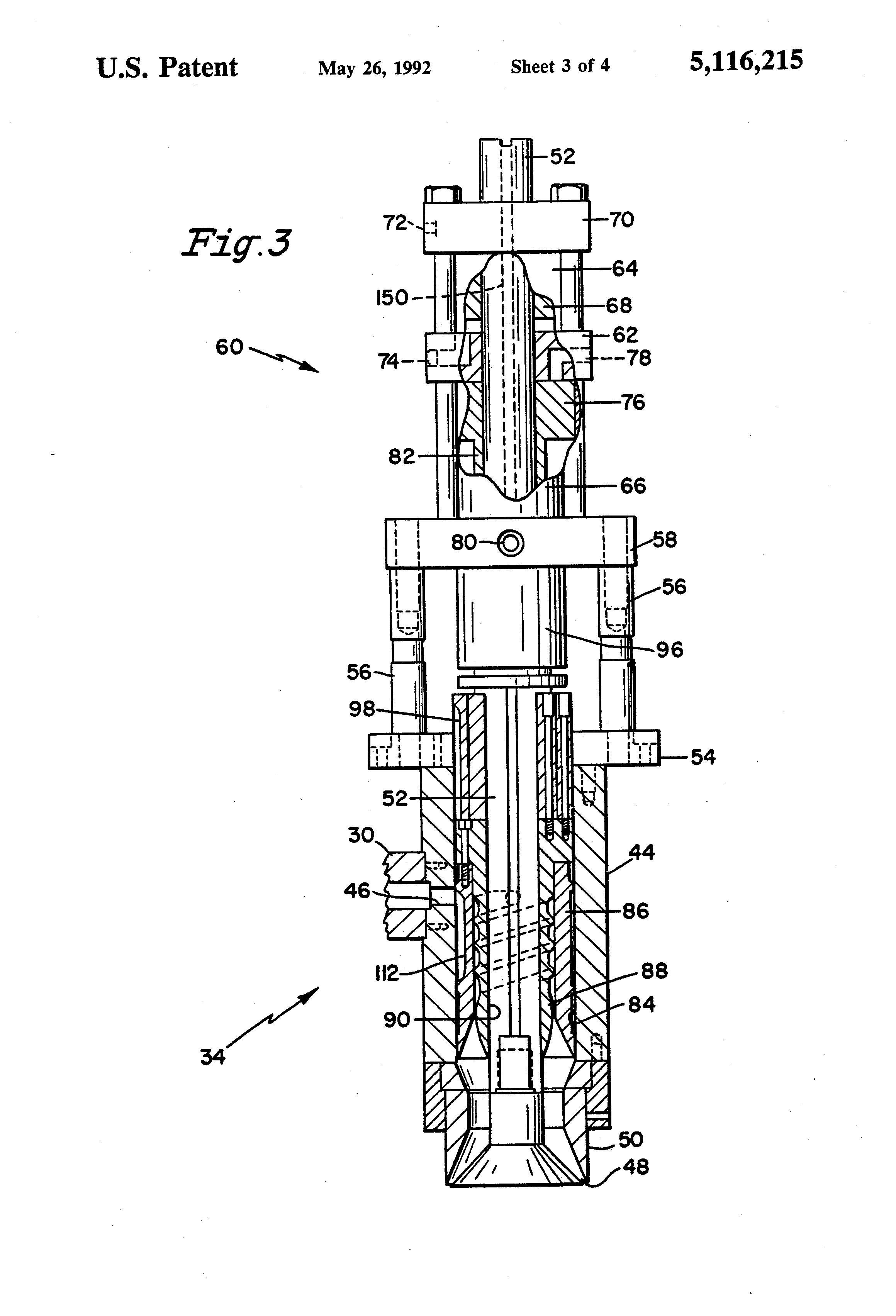 Patent Us5116215 Accumulator Head For Extrusion Blow