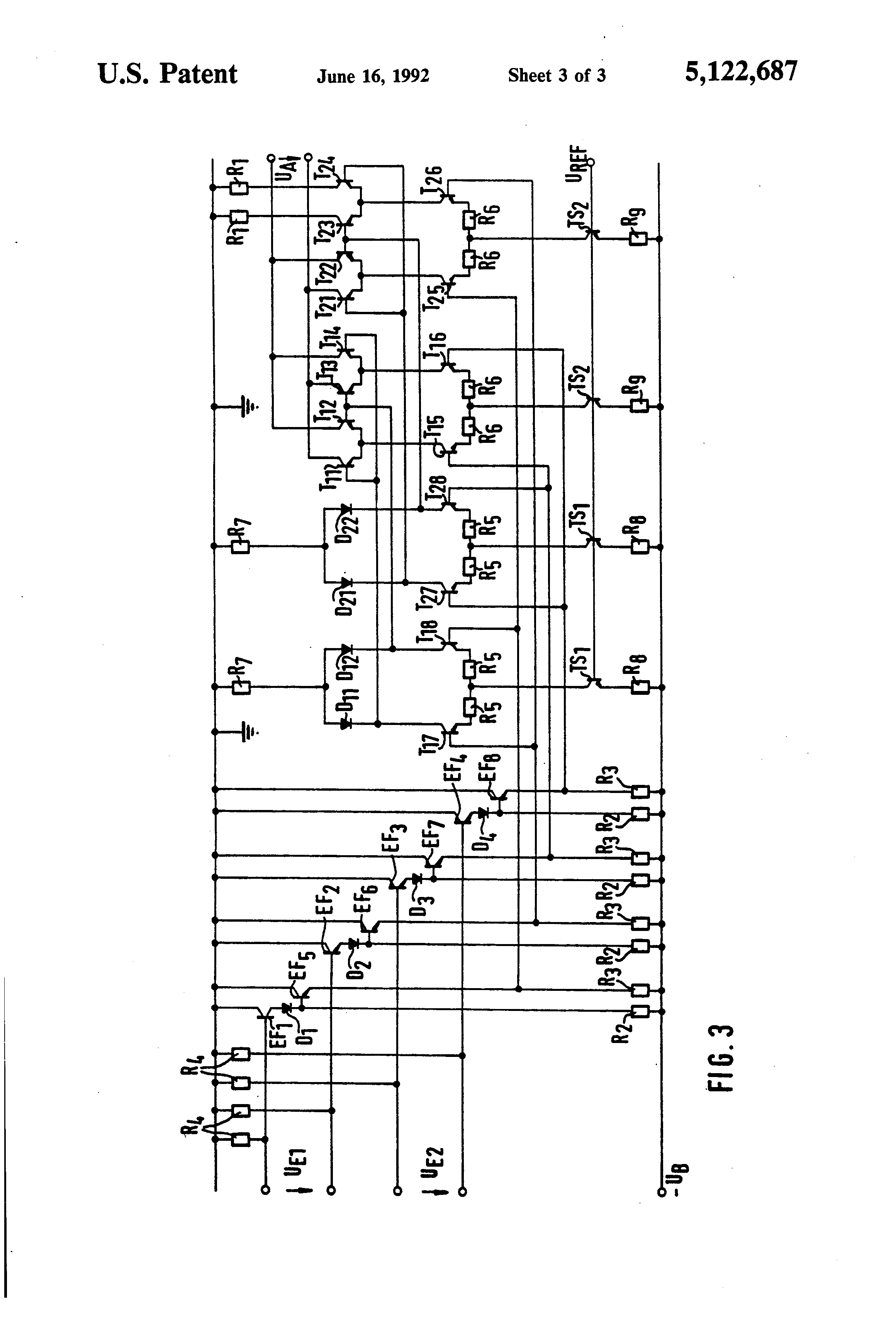 Patent Us5122687 Symmetrical Exclusive Or Gate And Modification Delayon Timer Another Commonemitter Sample Circuit Shown Below May Drawing