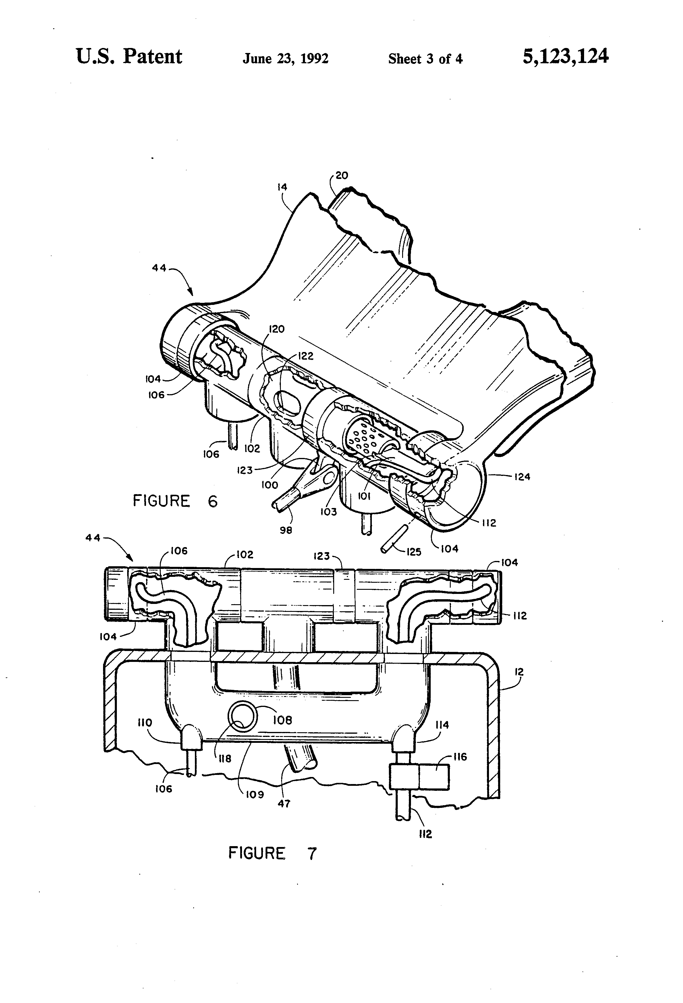Patent Us5123124 Automatic Self Cleaning Water Saving