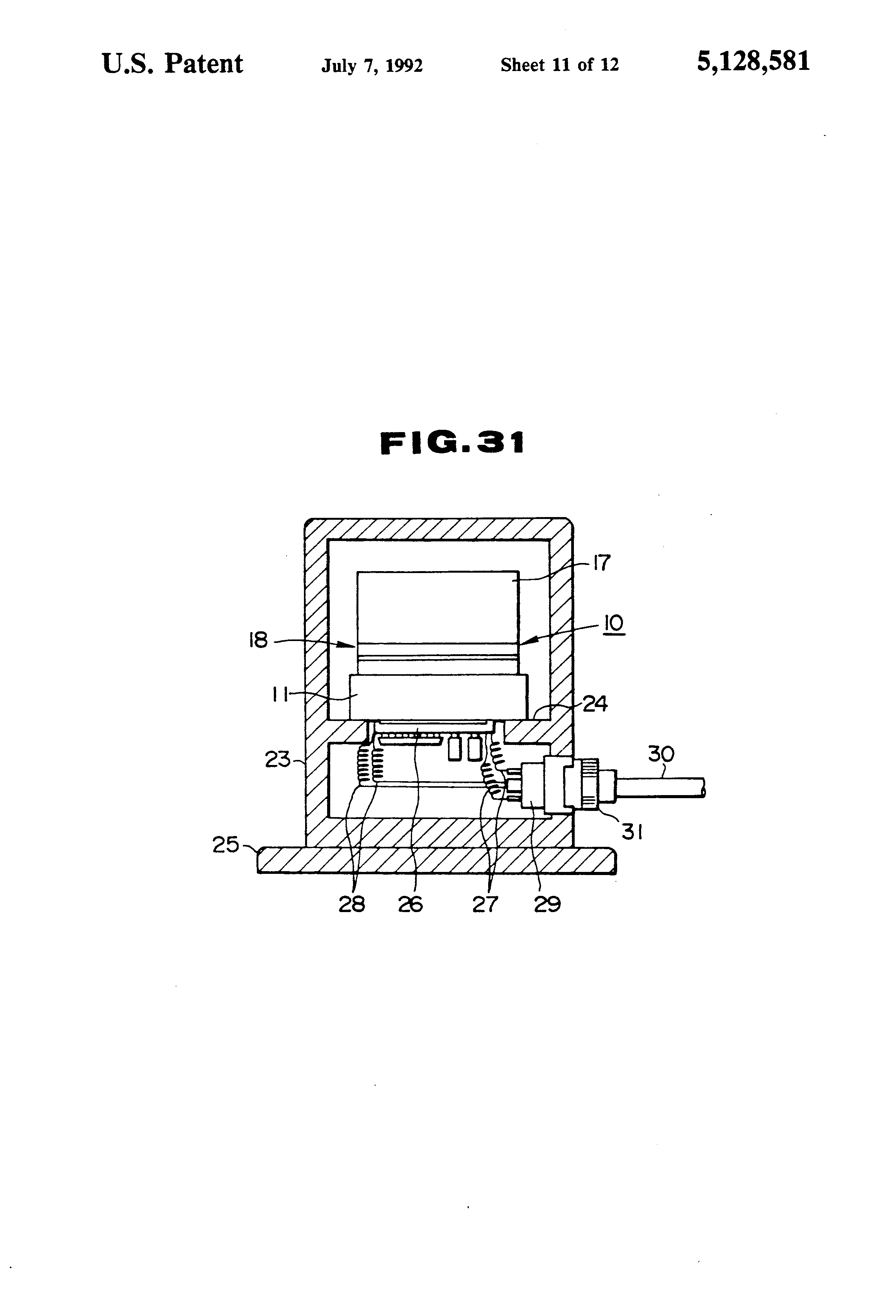 patent us5128581