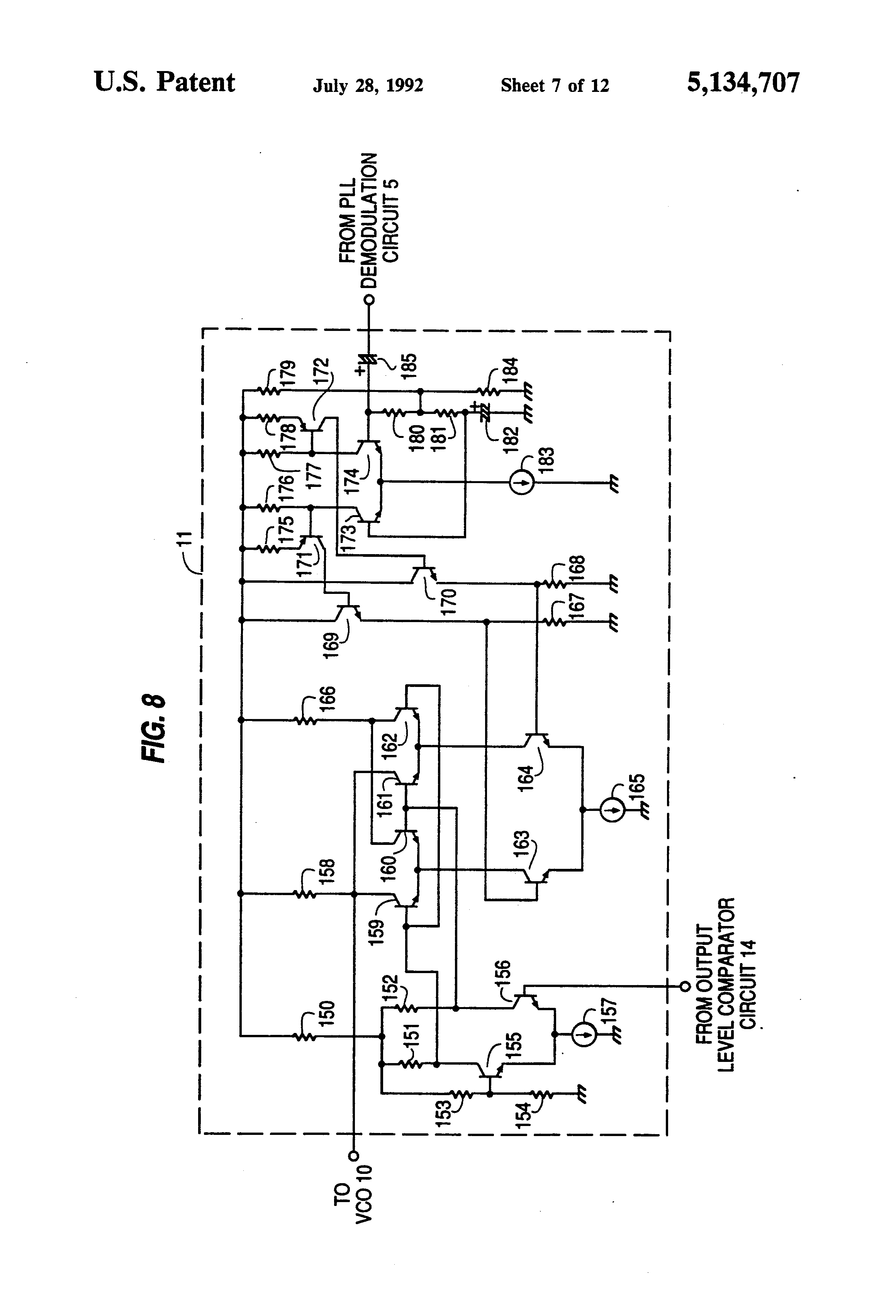 Patent Us5134707 Satellite Receiver Google Patentsuche Pll Fm Demodulator Circuit Schematic Diagram Drawing