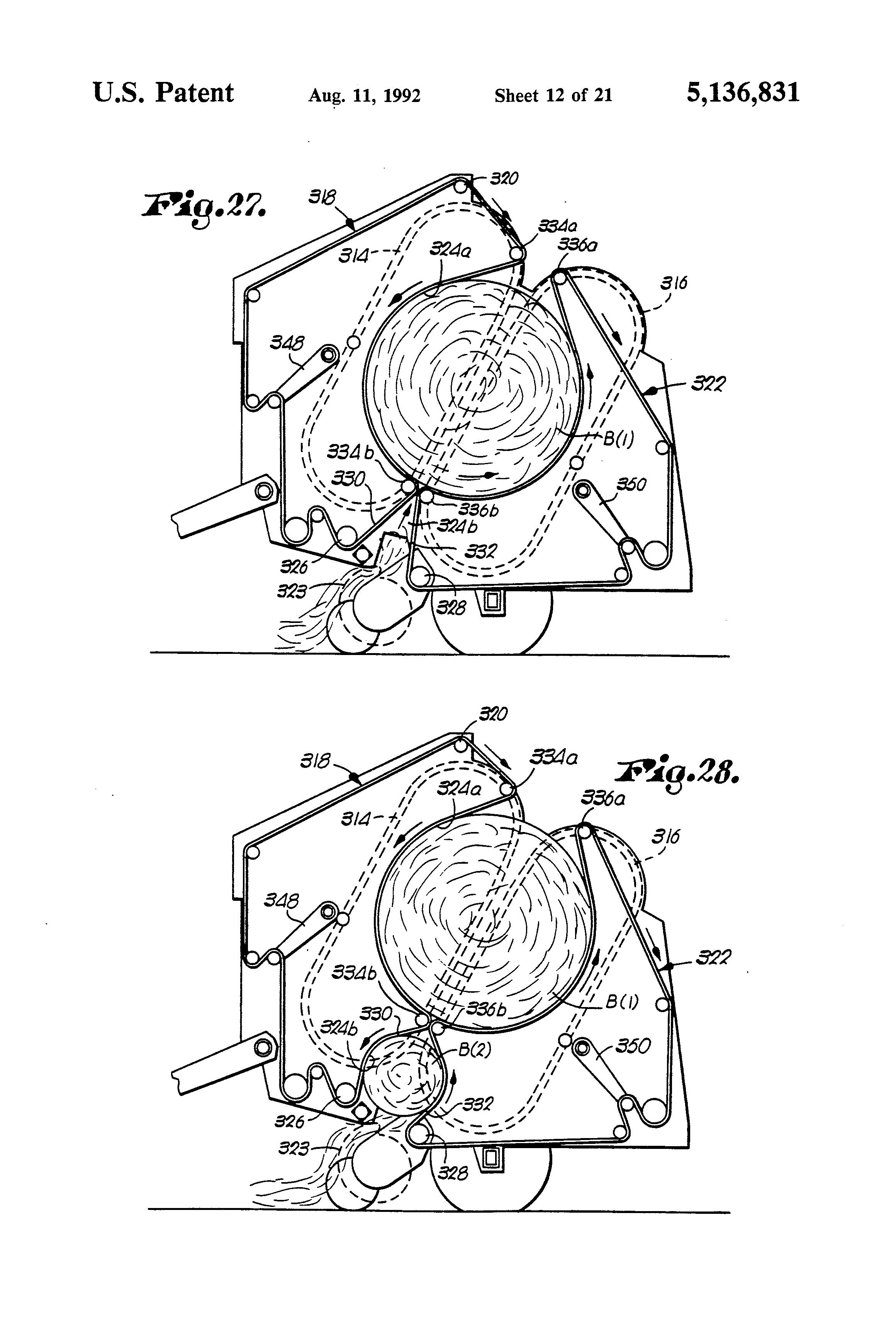 Baler Google Patents On 424 International Tractor Hydraulics Diagram