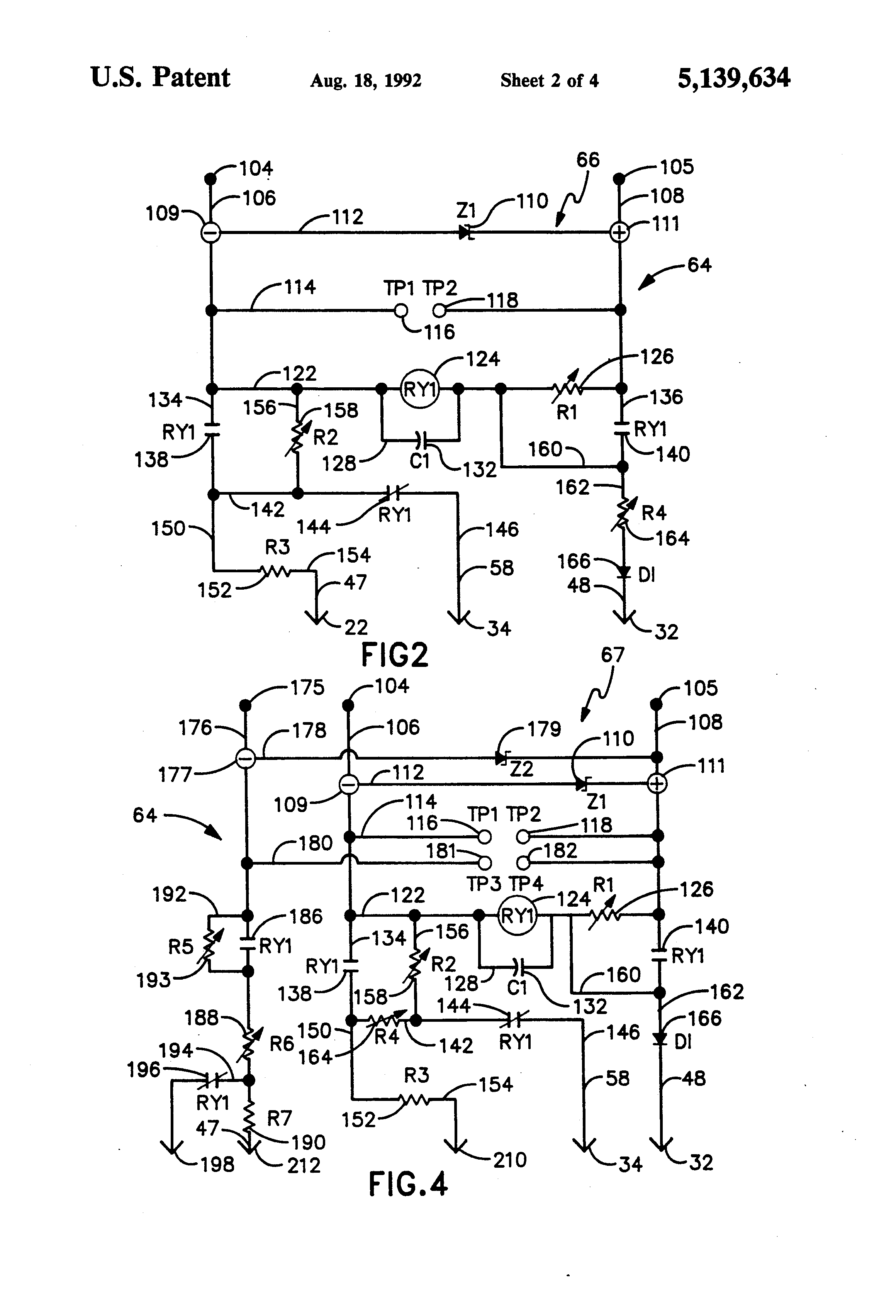 Patente Us5139634 Method Of Use Of Dual Bed Cathodic
