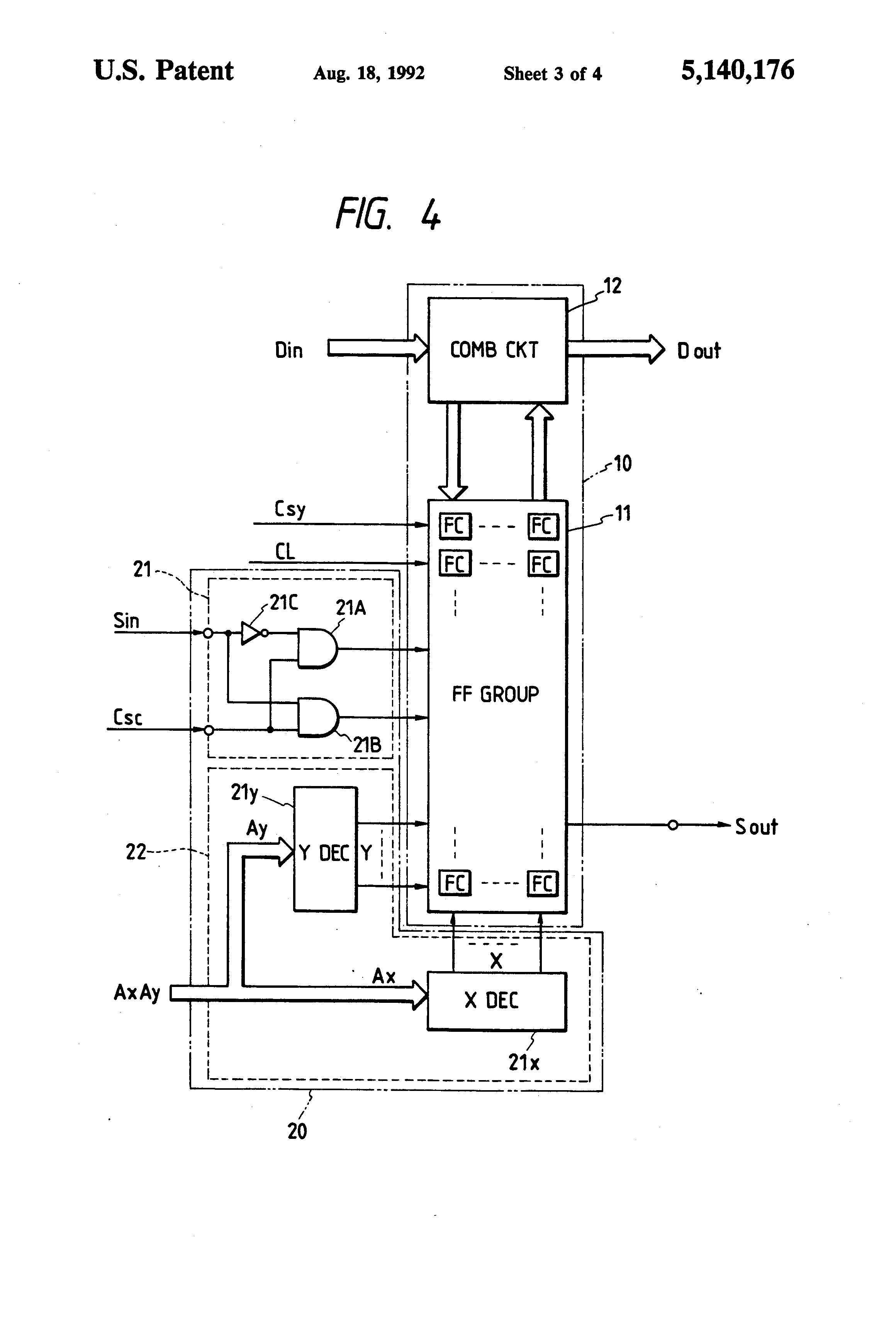 patent us5140176