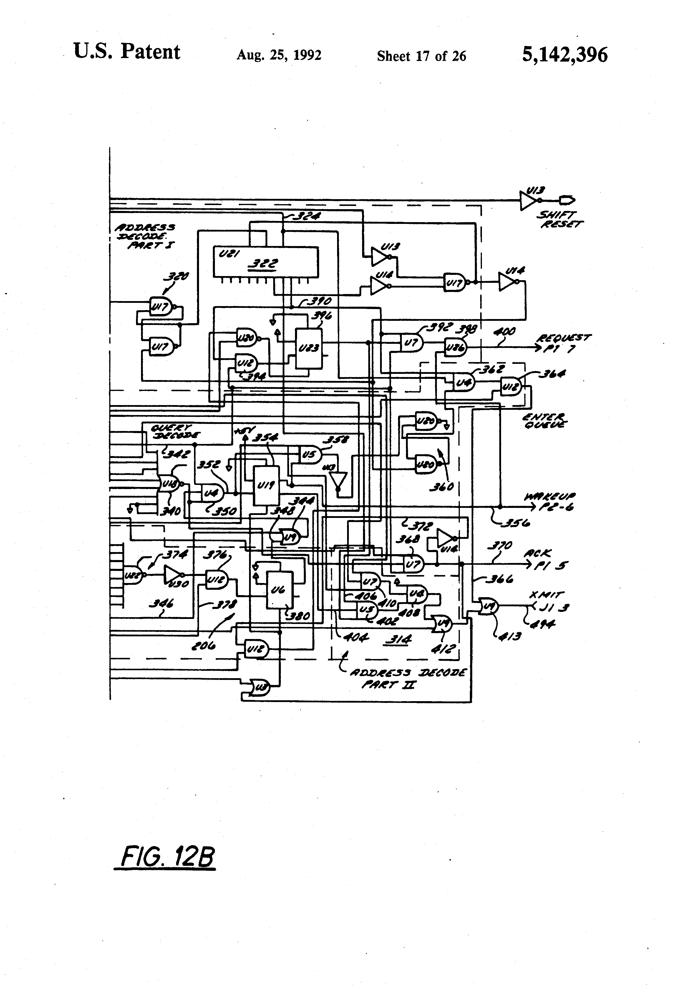 patent us5142396
