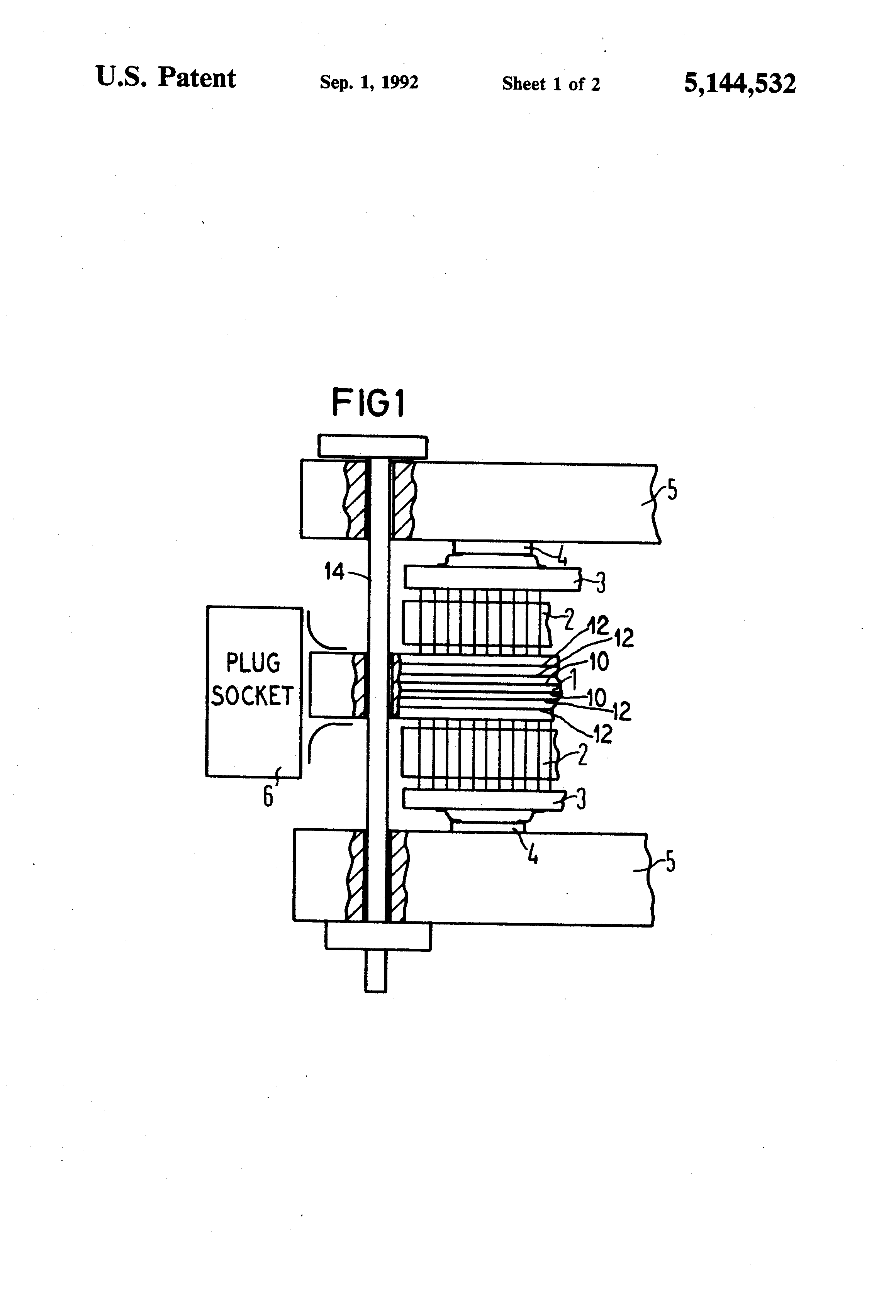 patent us5144532 - circuit board assembly
