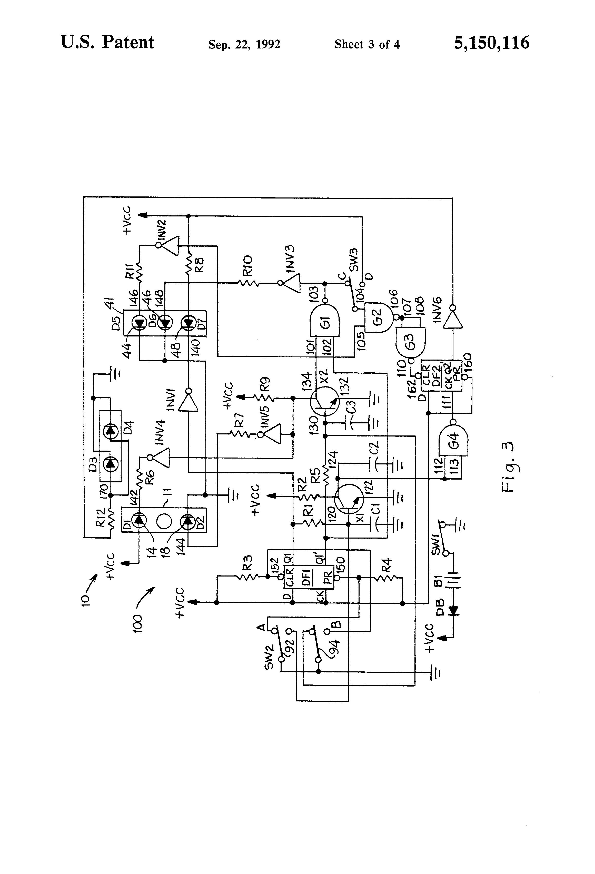 patent us5150116