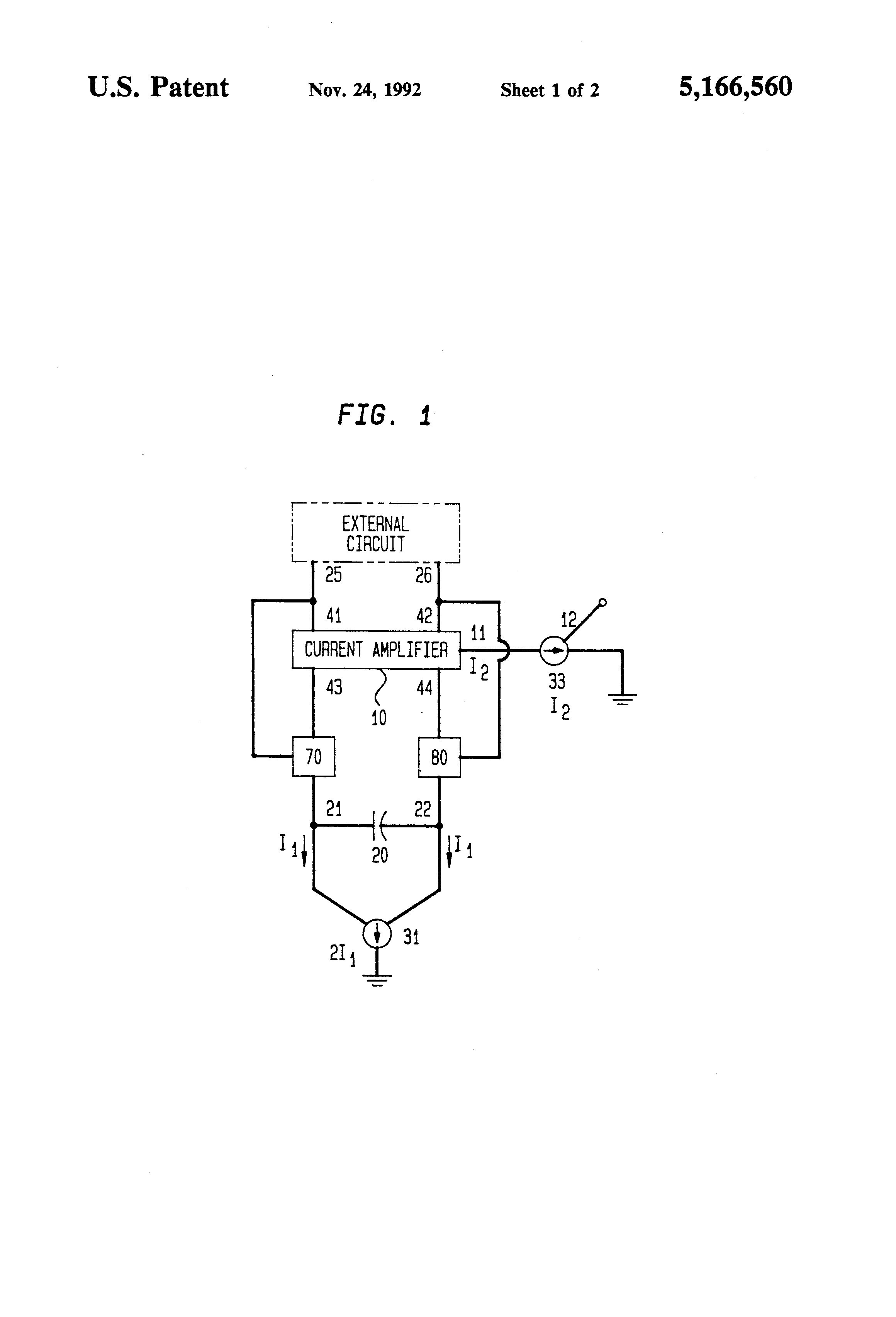 Patent Us5166560 Voltage Controlled Variable Capacitor Google Follower Op Amp Circuit Drawing