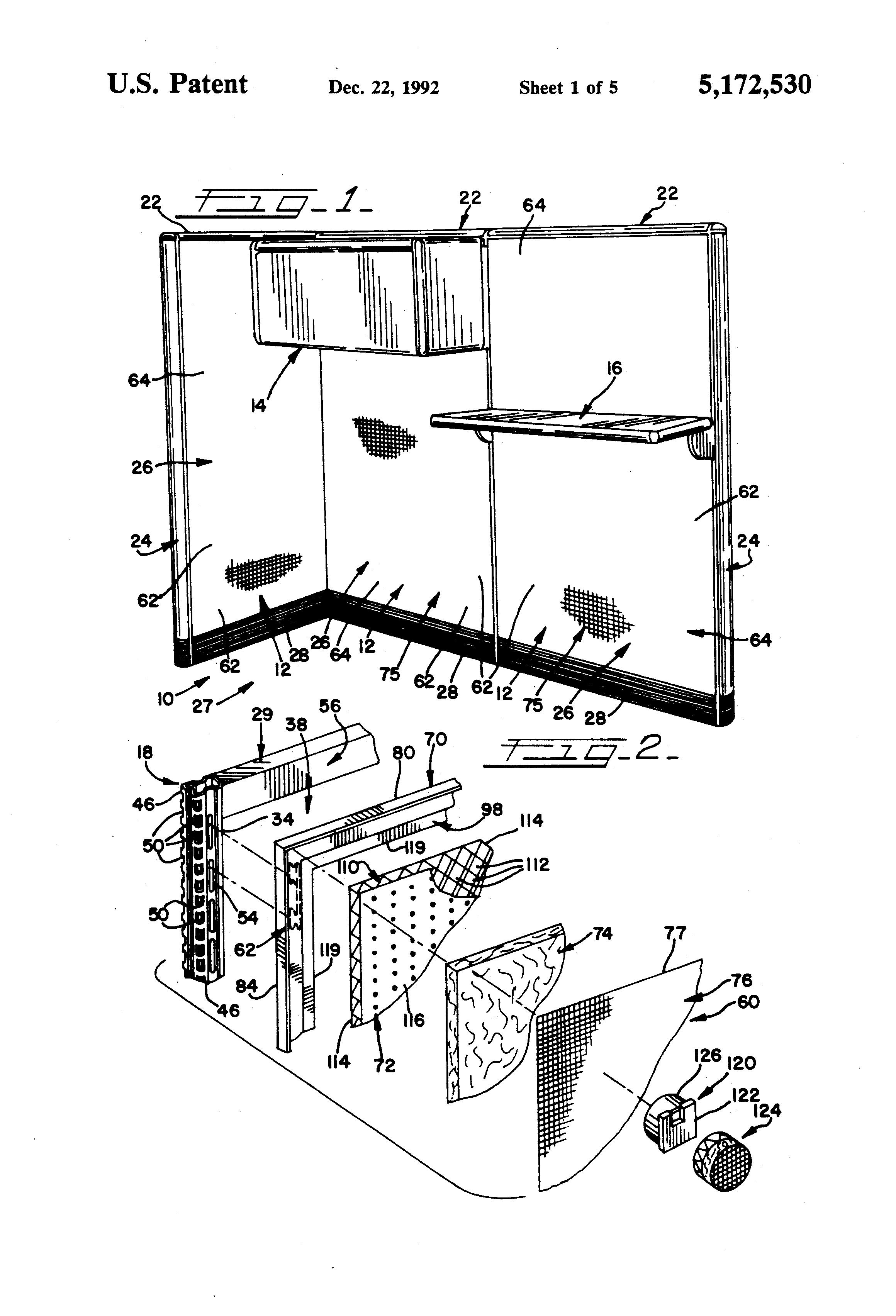 patent us5172530