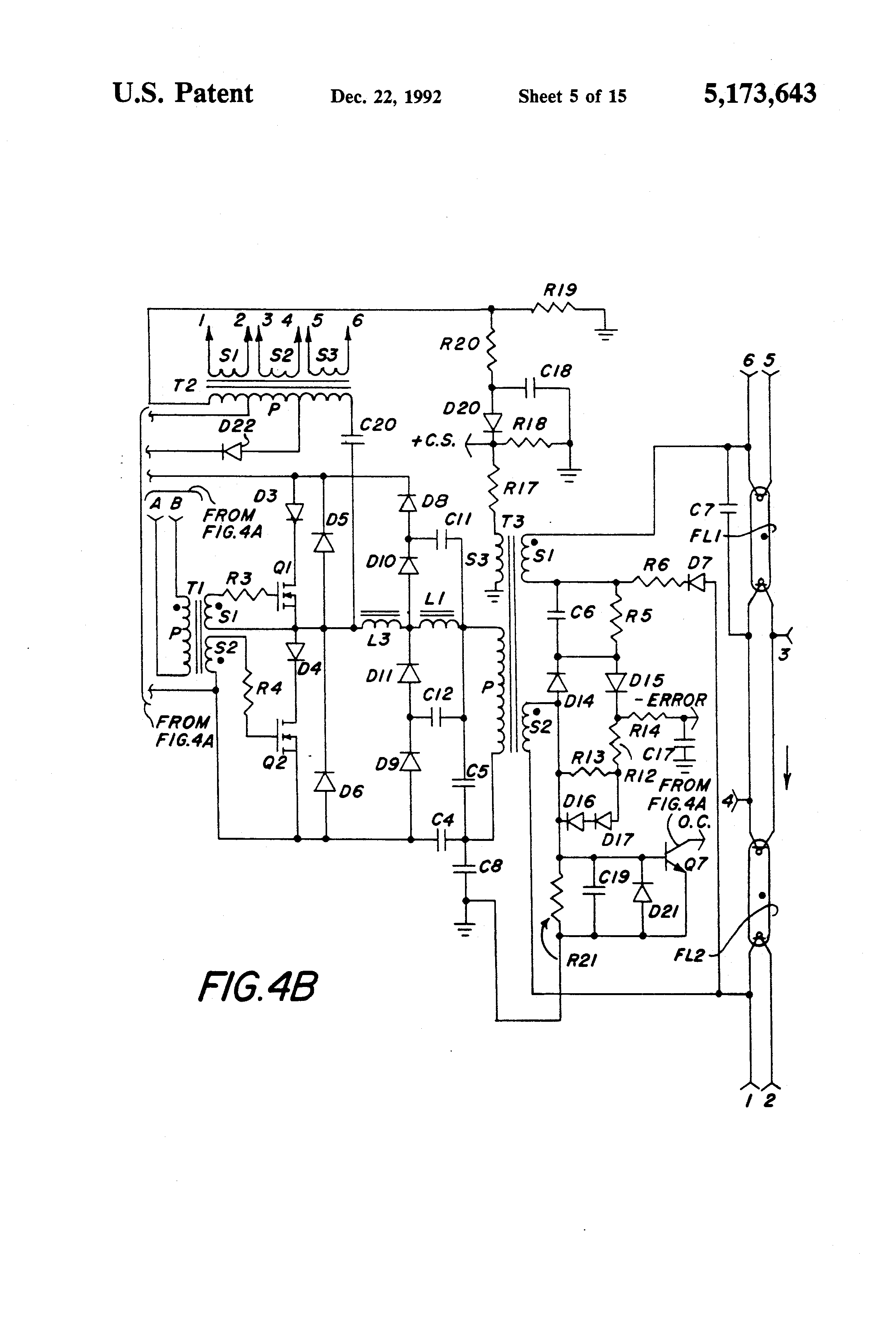patent us5173643 - circuit for dimming compact fluorescent lamps