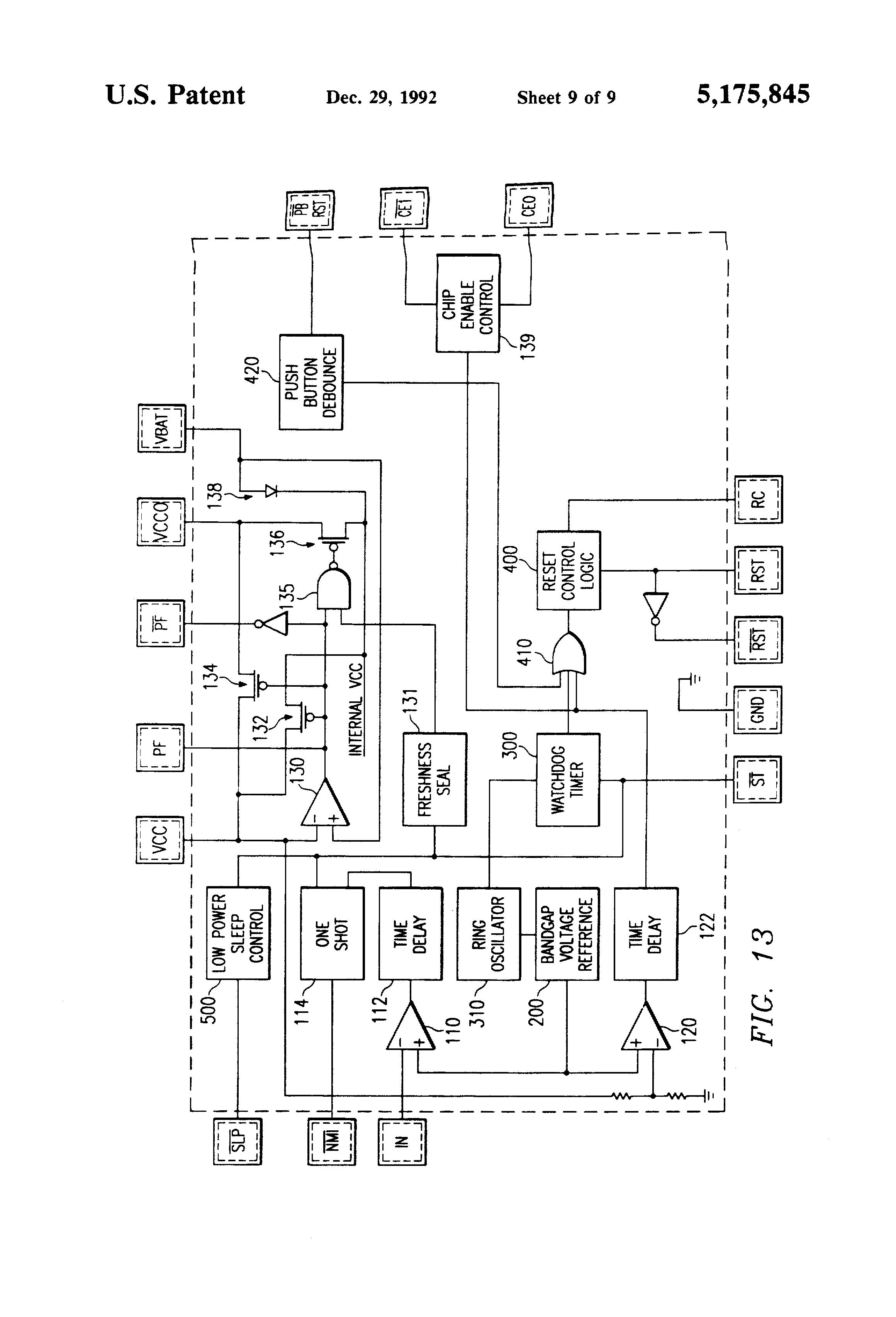 patent us5175845