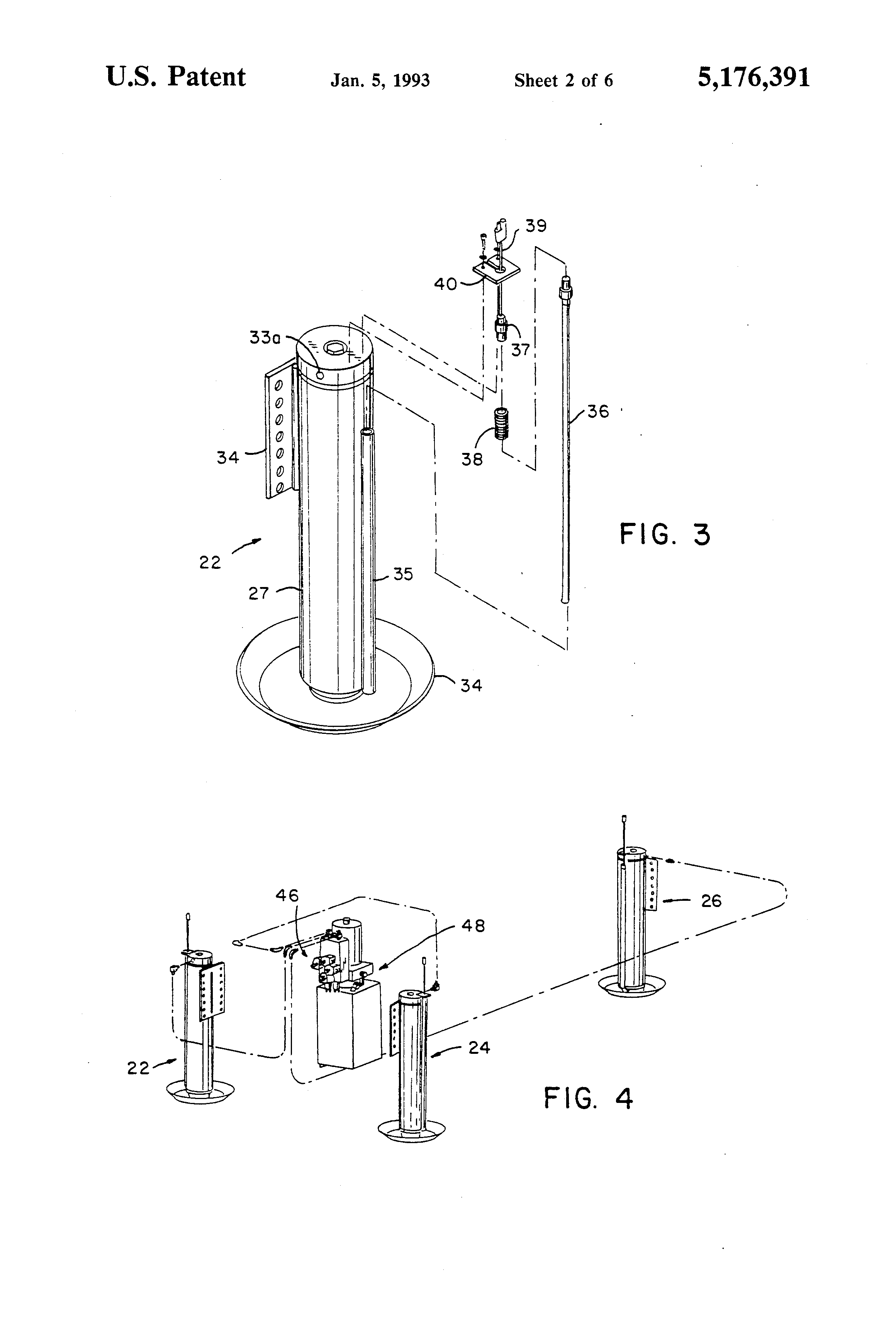 Patent Us5176391 - Vehicle Leveling System