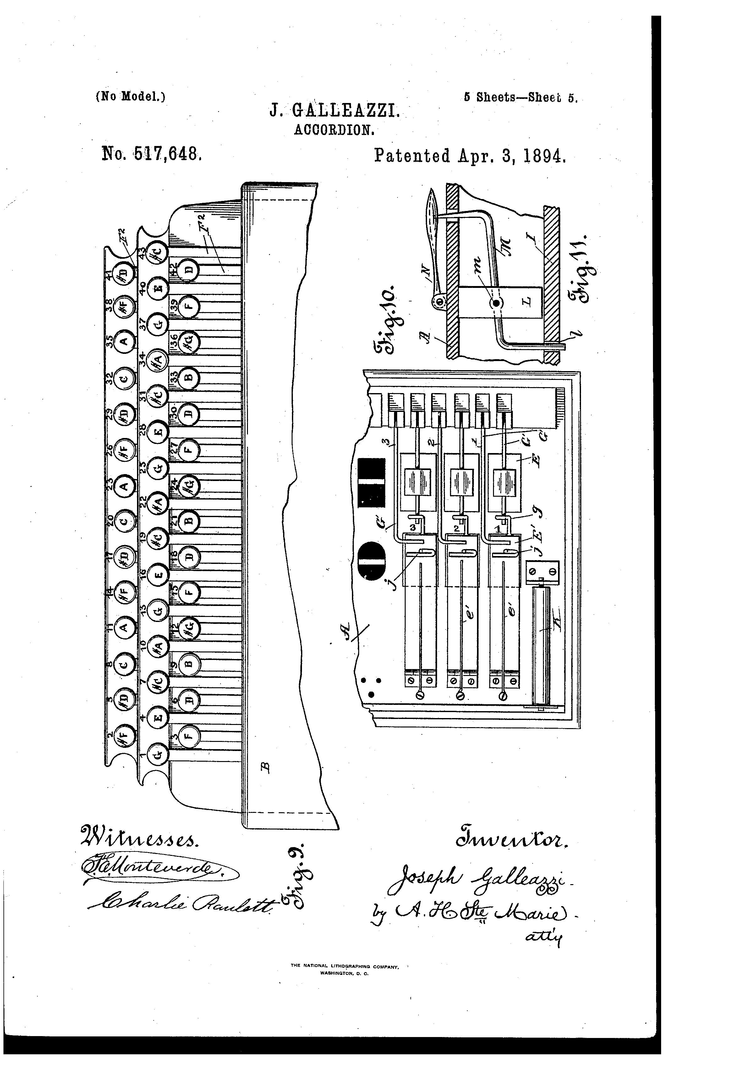 Patent us517648 accordion google patents patent drawing hexwebz Choice Image