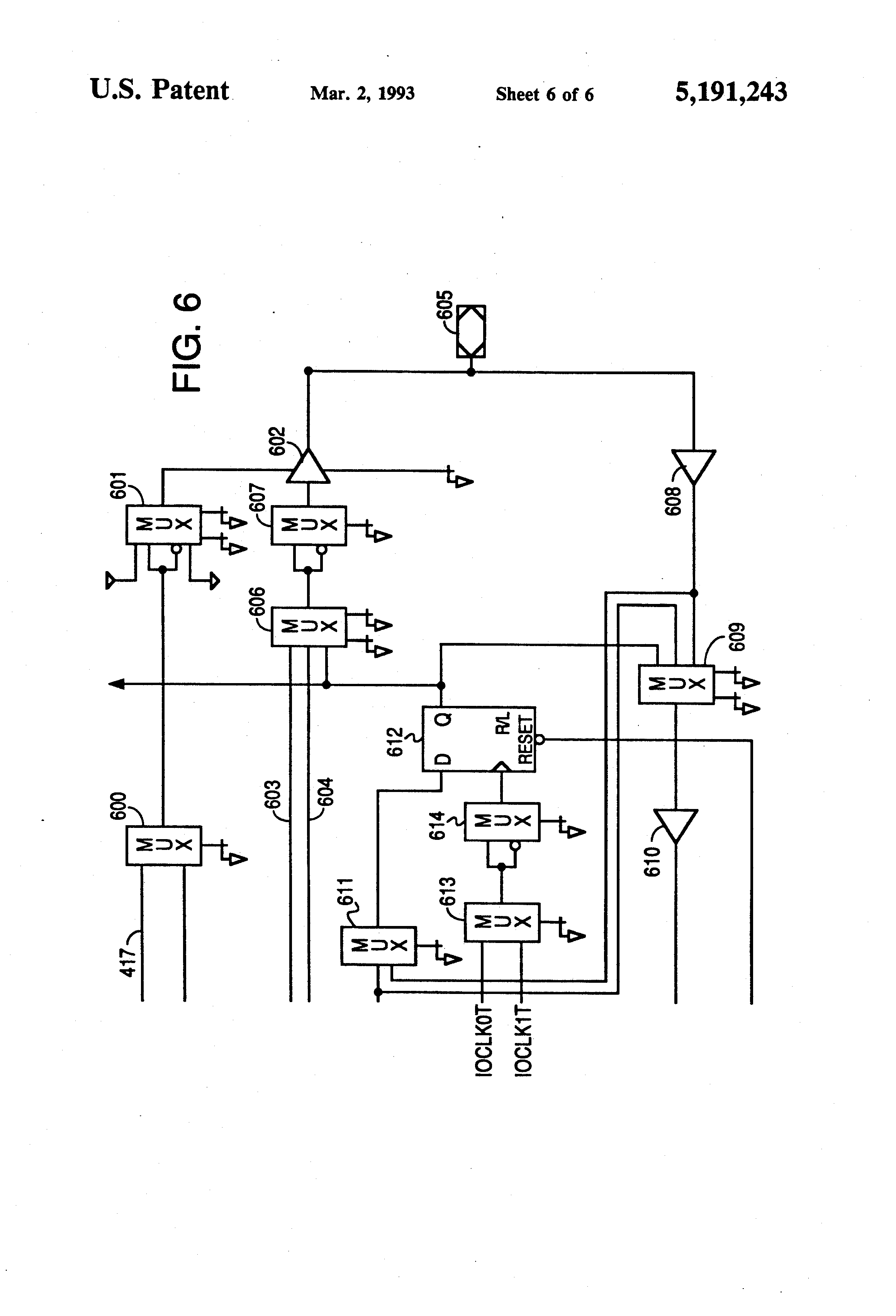 Patent Us5191243 Output Logic Macrocell With Enhanced Functional Gate Circuit Diagram Further Xor Schematic On Drawing