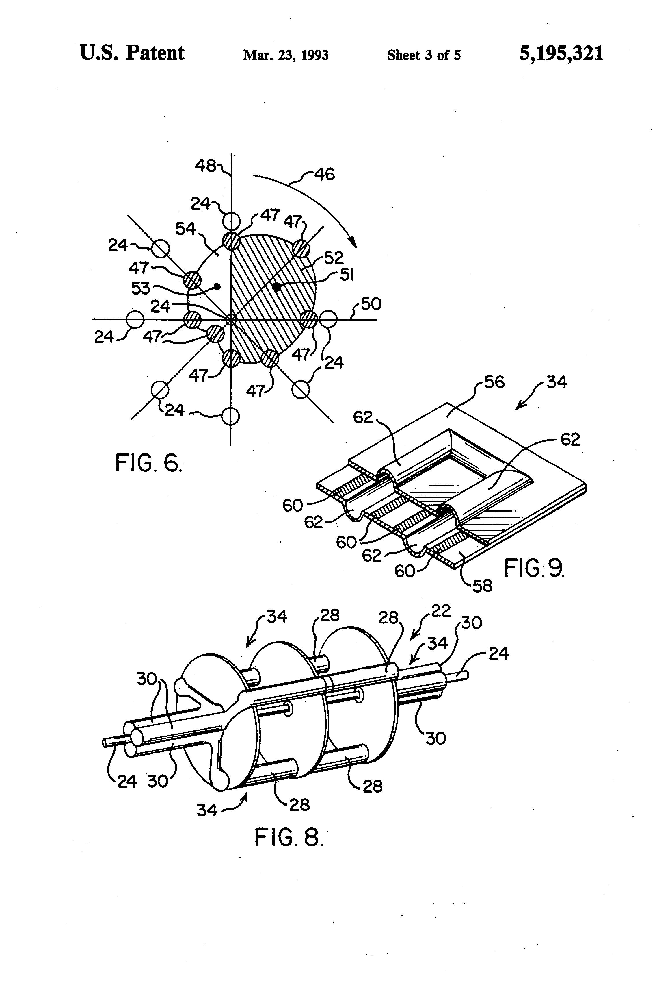 Patent Us5195321 Liquid Piston Heat Engine Google Patents