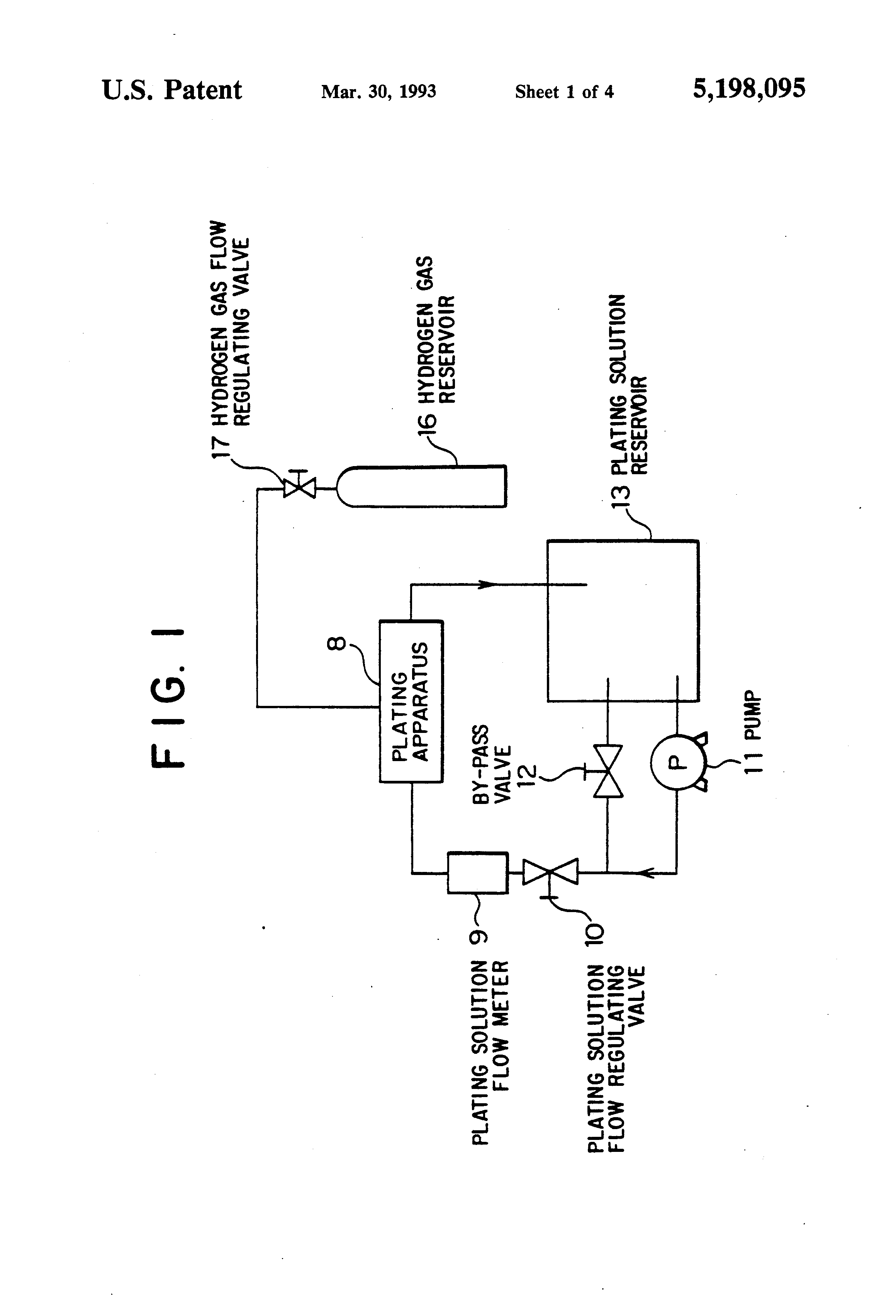 Patent US5198095 - Method for continuously manganese