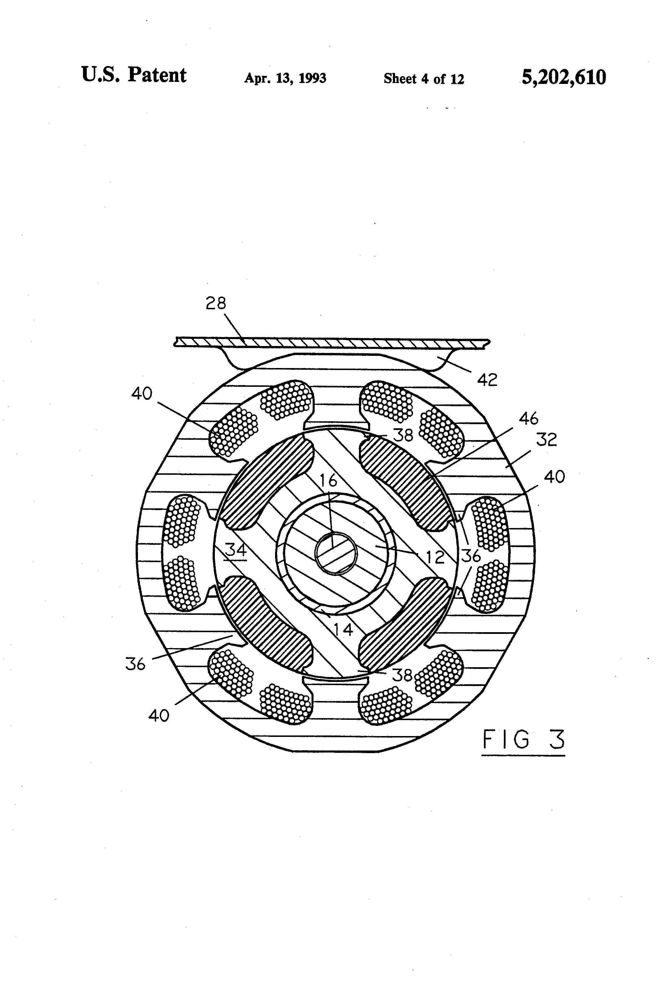 Patent Us5202610 Method And Apparatus For Yarn End Down Detection Eurodrive Wiring Diagrams Drawing